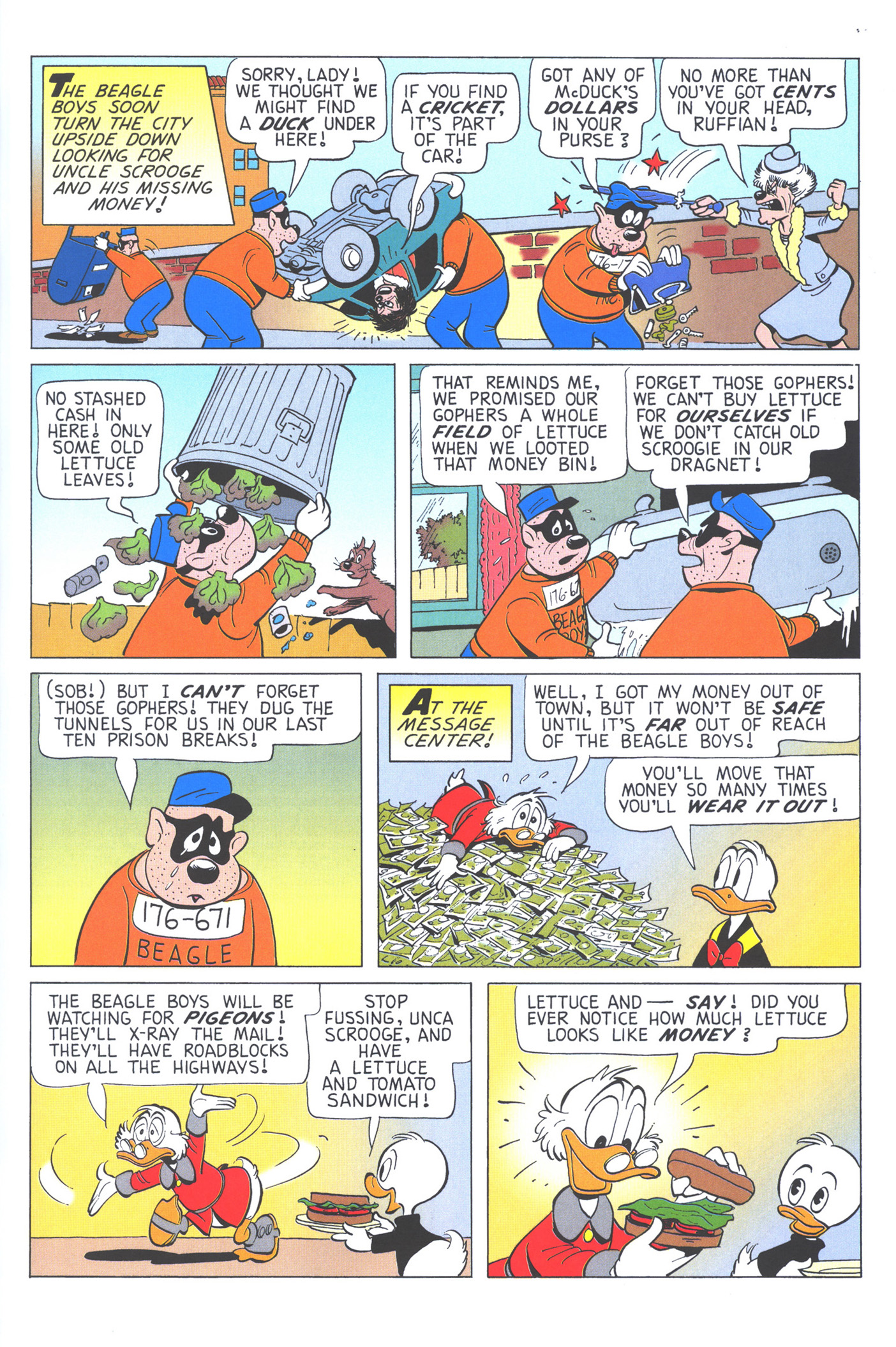 Read online Uncle Scrooge (1953) comic -  Issue #371 - 13