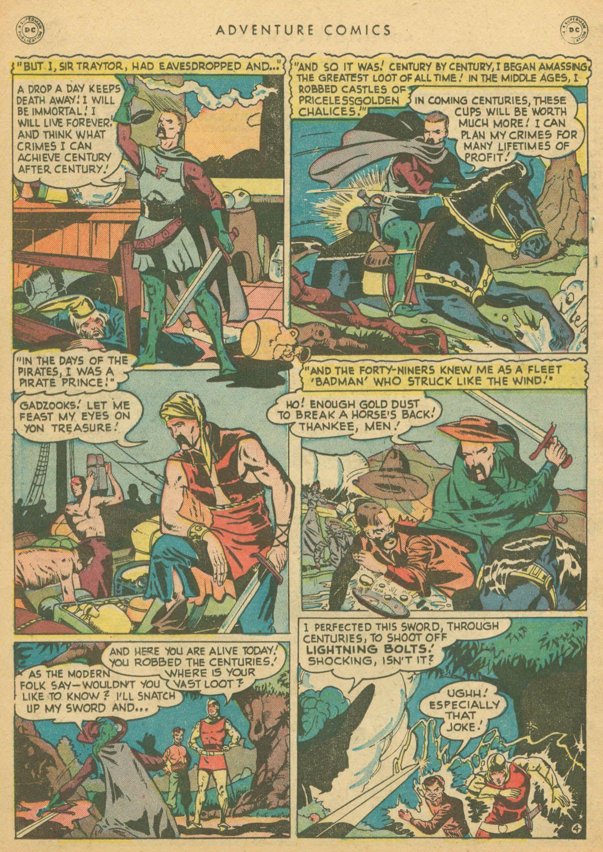 Read online Adventure Comics (1938) comic -  Issue #142 - 35