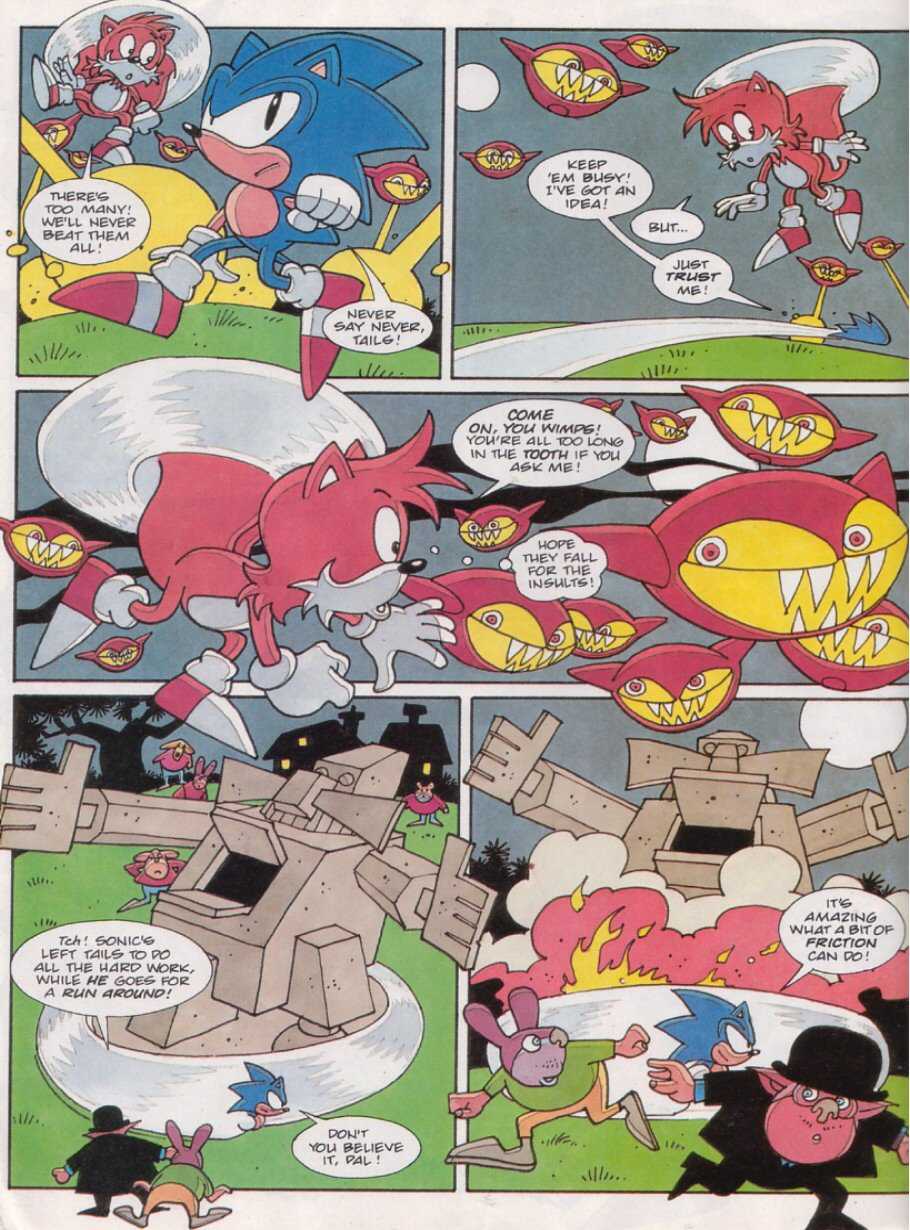 Read online Sonic the Comic comic -  Issue #117 - 25