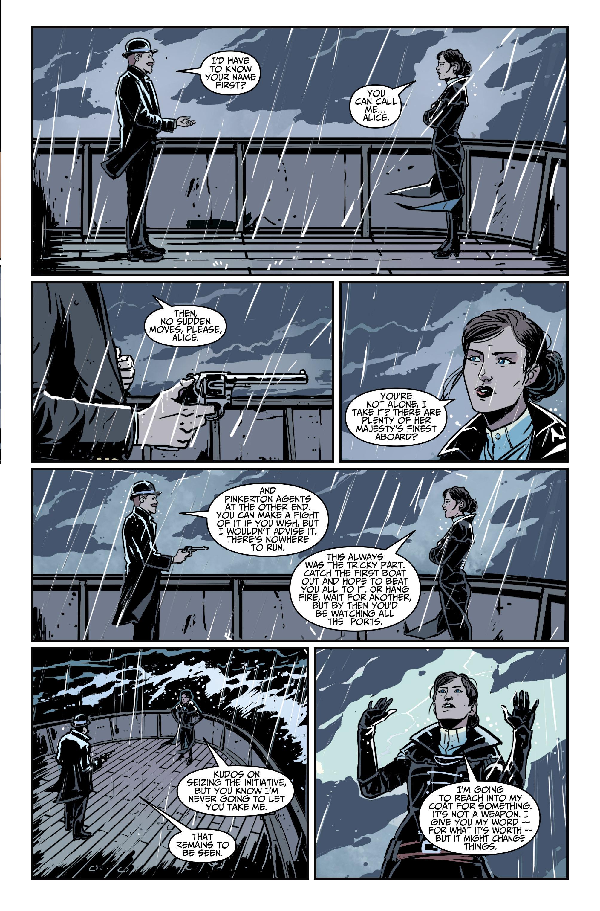 Read online Assassin's Creed: Locus comic -  Issue #4 - 21