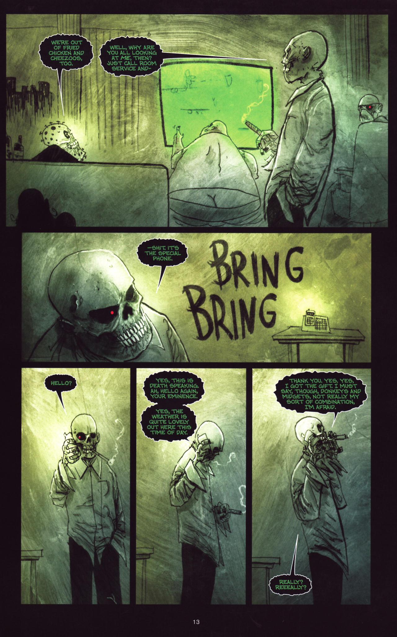 Read online Wormwood: Gentleman Corpse comic -  Issue #8 - 14