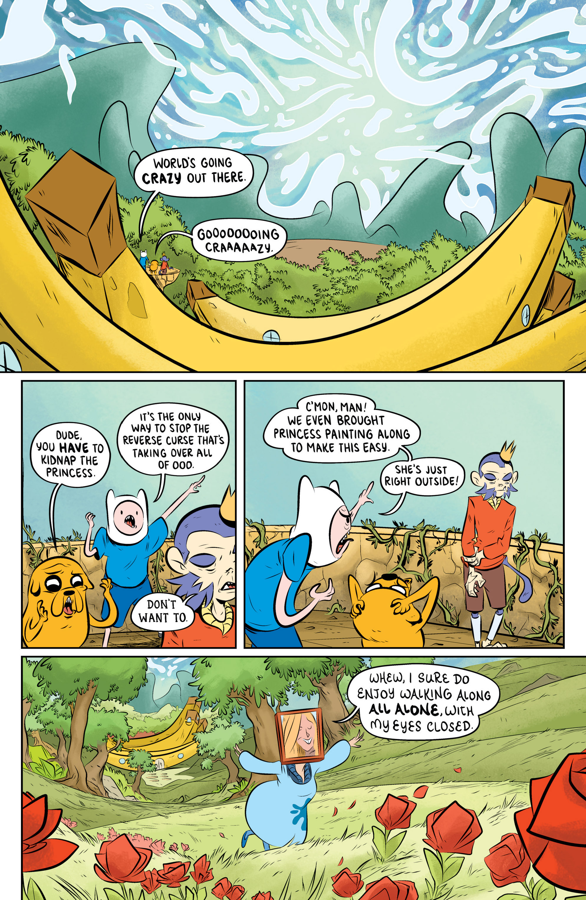 Read online Adventure Time: The Flip Side comic -  Issue #5 - 7
