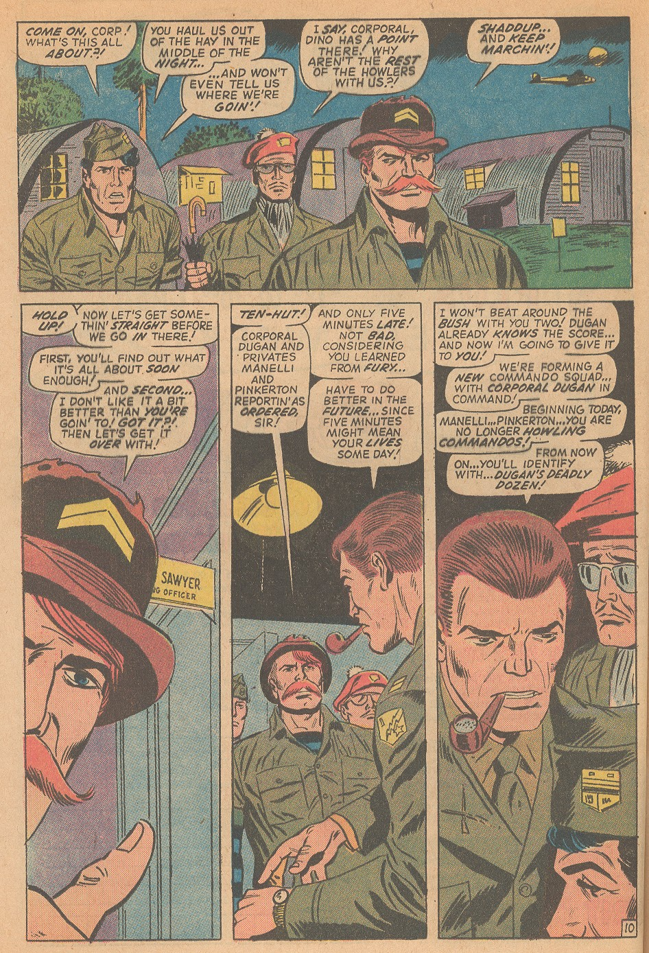 Read online Sgt. Fury comic -  Issue #98 - 16