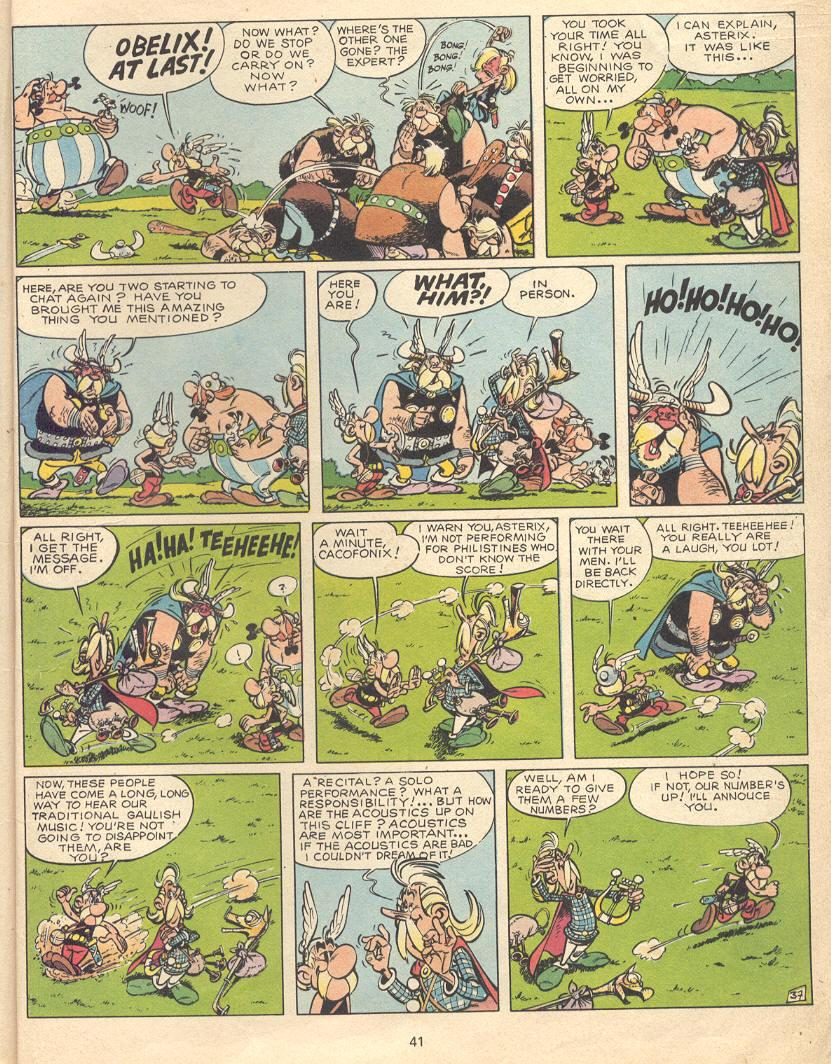 Read online Asterix comic -  Issue #9 - 38