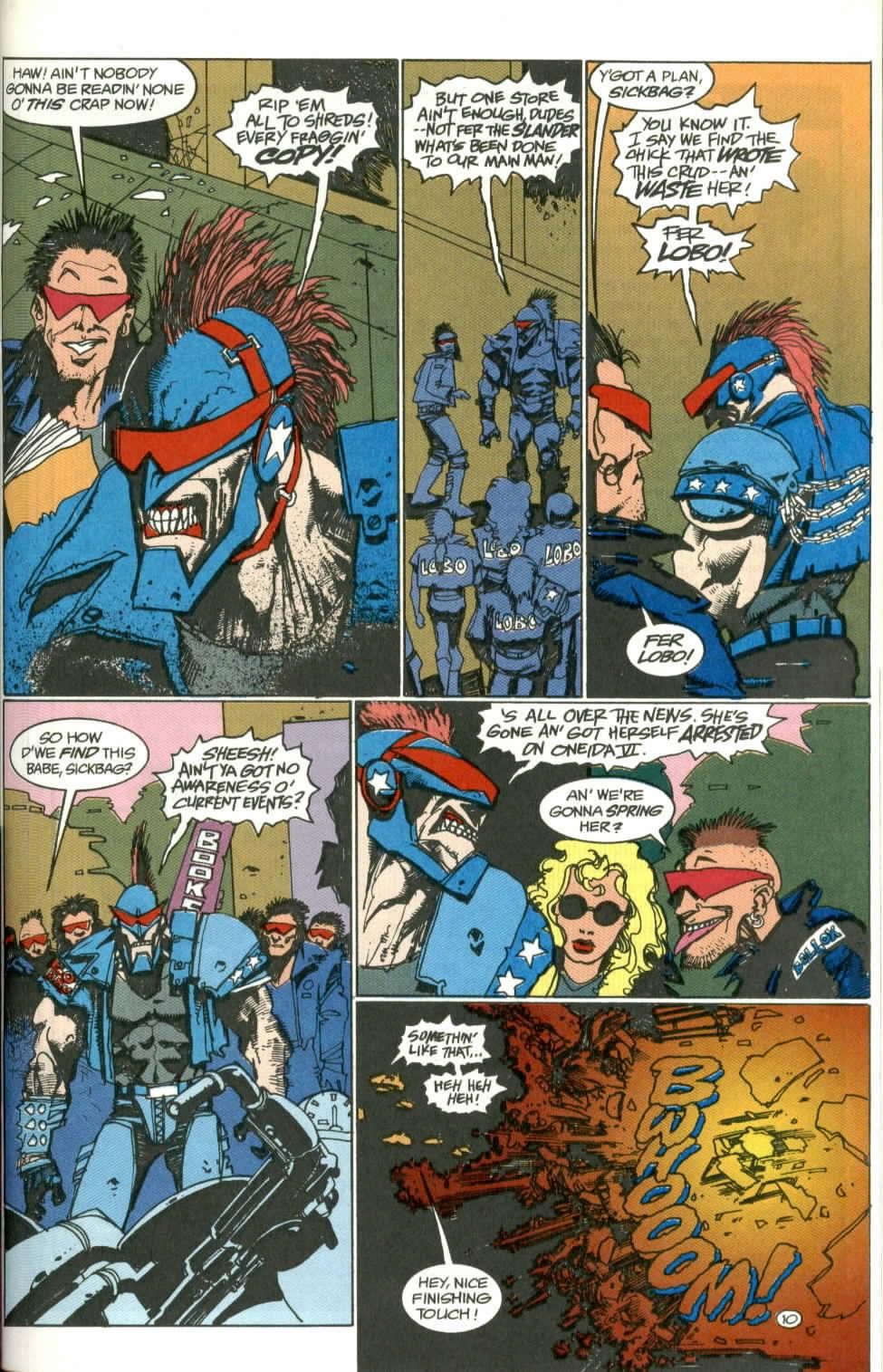 Read online Lobo (1990) comic -  Issue #1 - 11