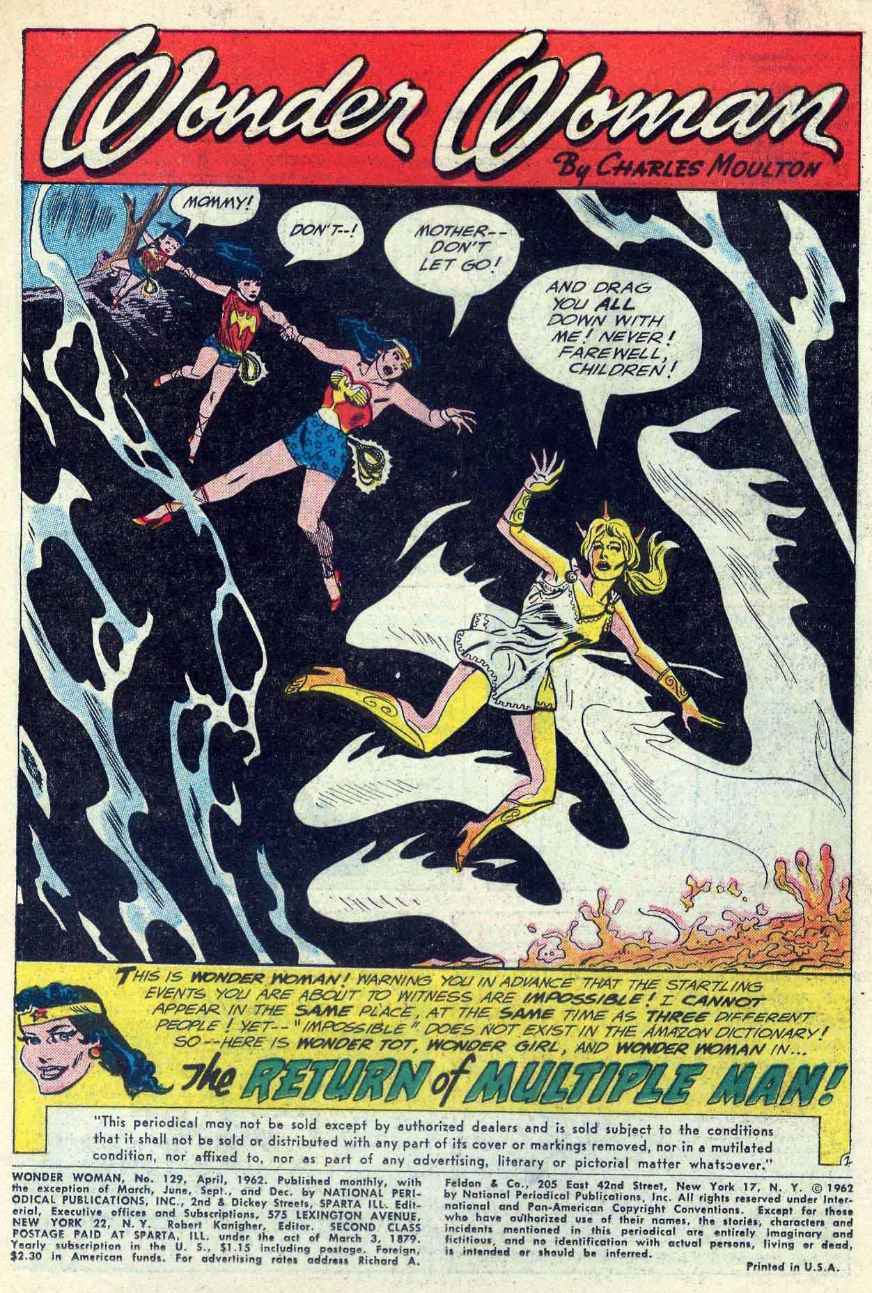 Read online Wonder Woman (1942) comic -  Issue #129 - 3