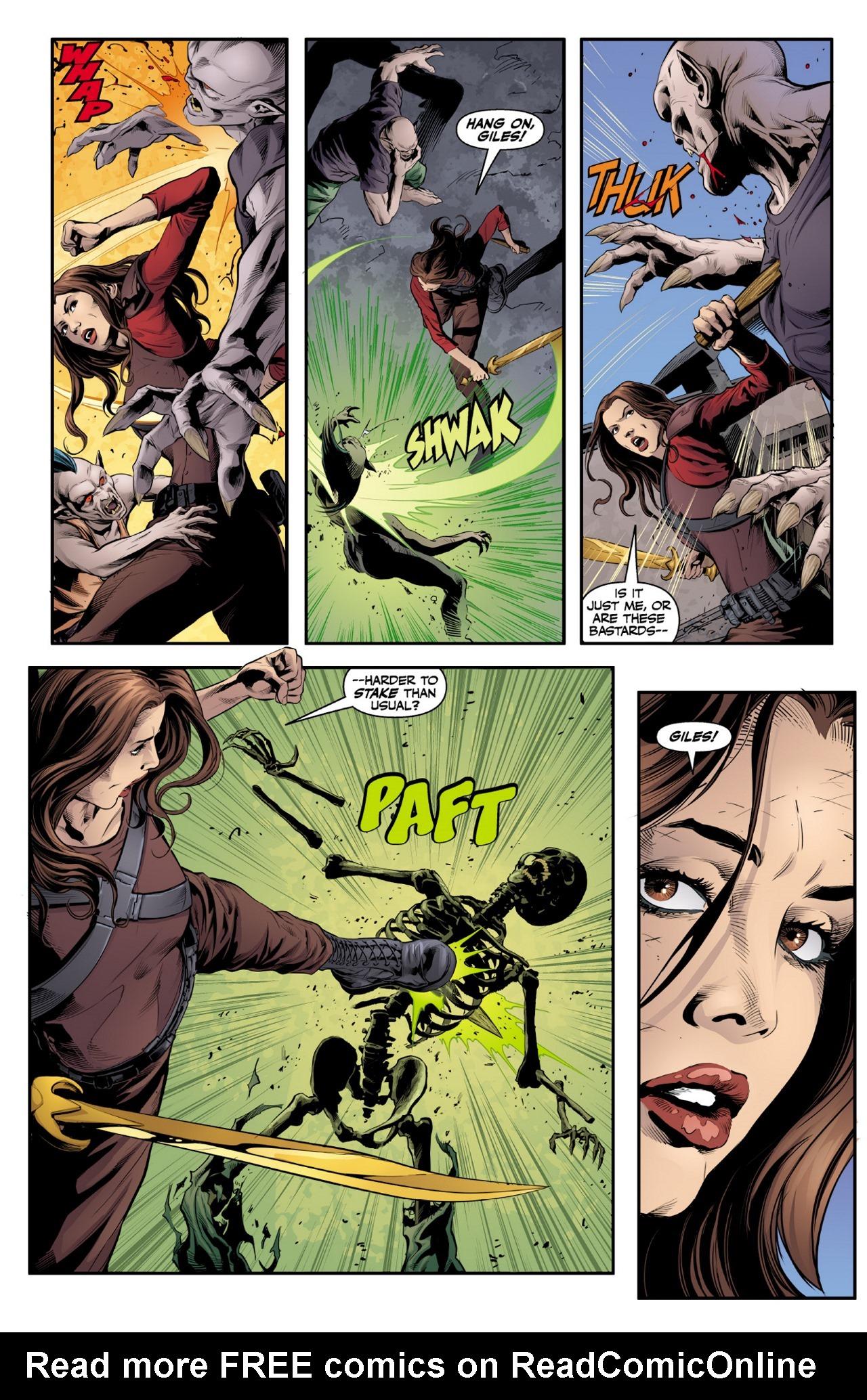 Read online Angel & Faith Season 10 comic -  Issue #1 - 18
