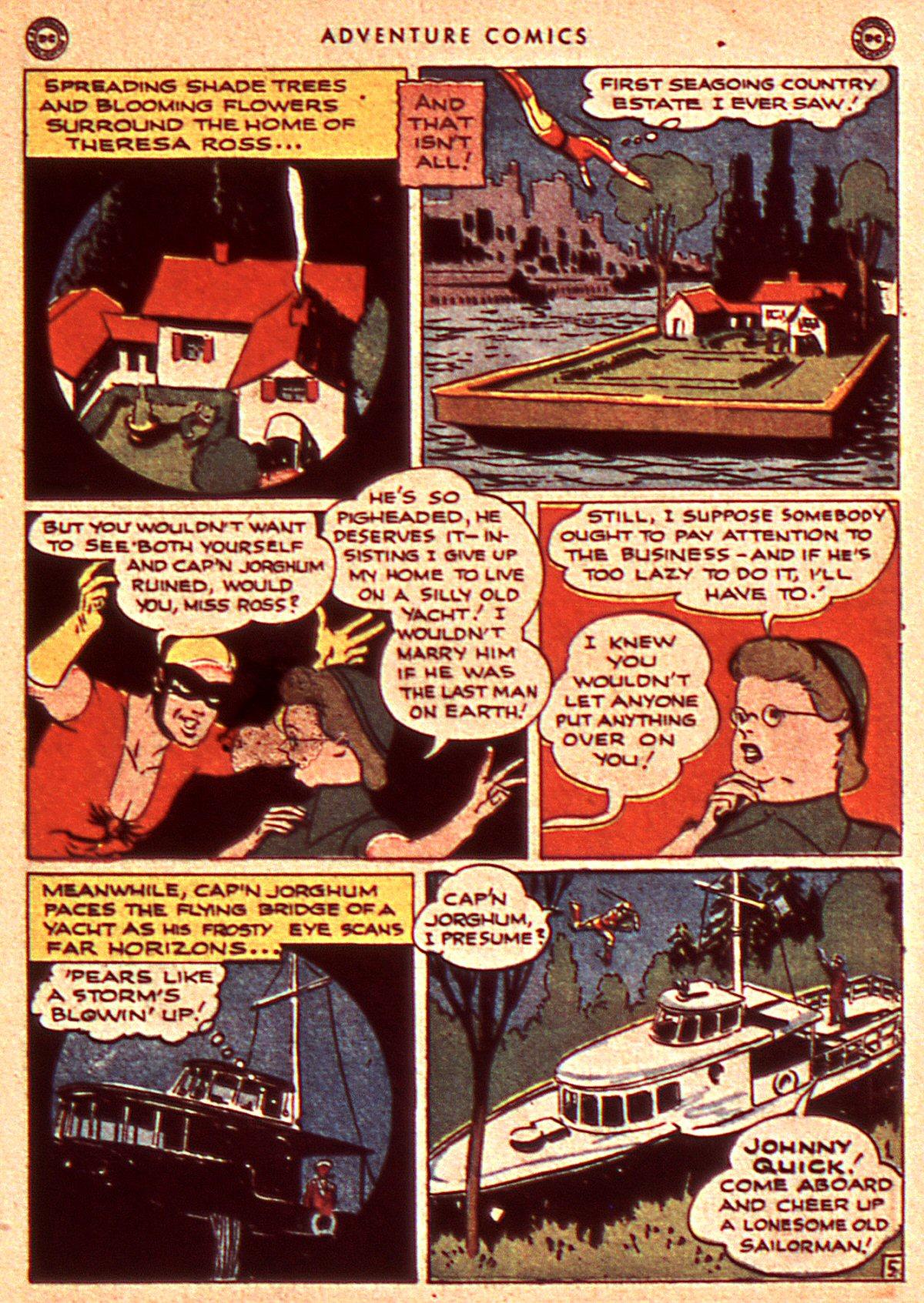 Read online Adventure Comics (1938) comic -  Issue #106 - 25