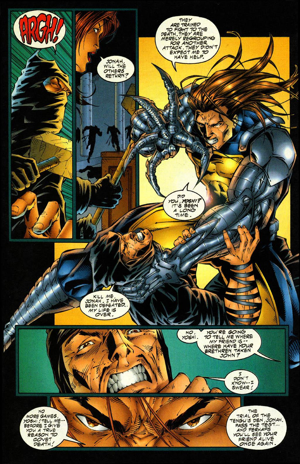 Read online Avengelyne (1996) comic -  Issue #4 - 13