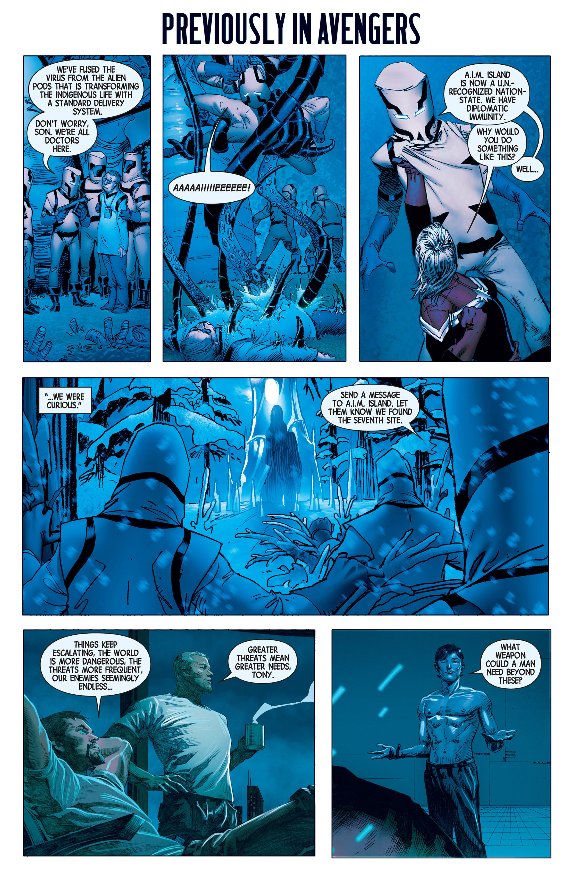 Read online Avengers (2013) comic -  Issue #11 - 2