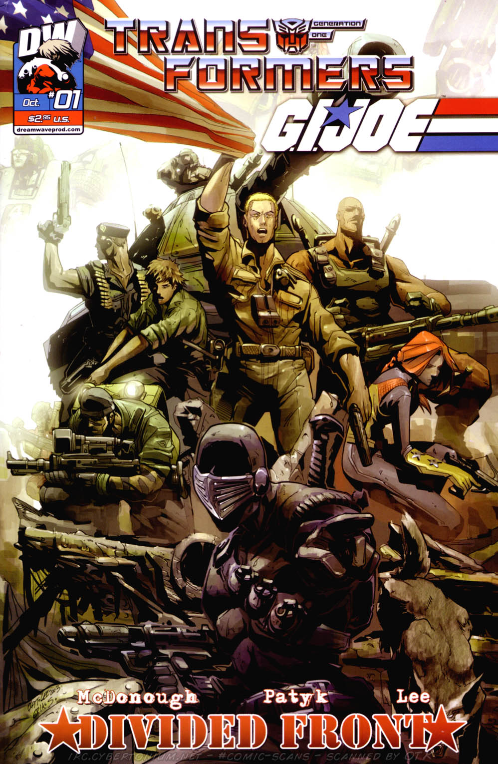 Read online Transformers/G.I. Joe: Divided Front comic -  Issue # Full - 5