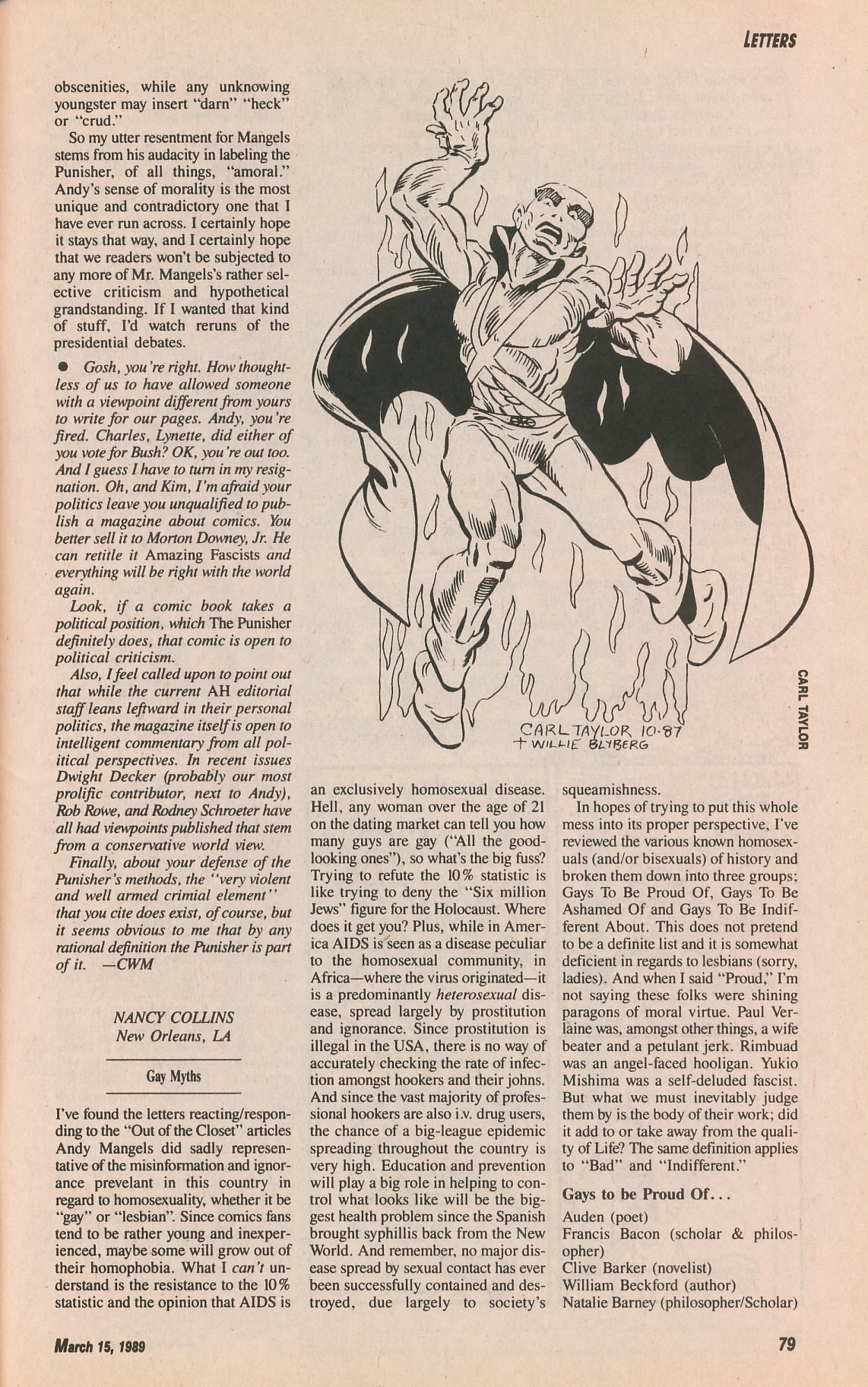 Read online Amazing Heroes comic -  Issue #161 - 79