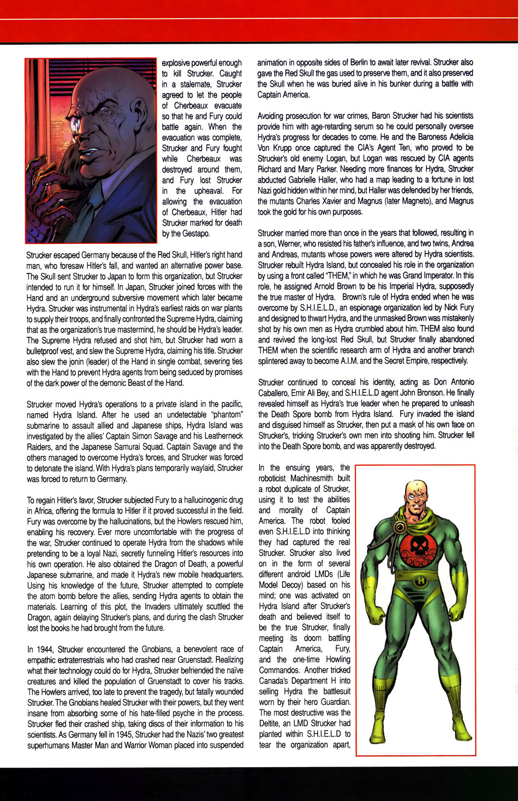 Read online All-New Official Handbook of the Marvel Universe A to Z comic -  Issue #1 - 61