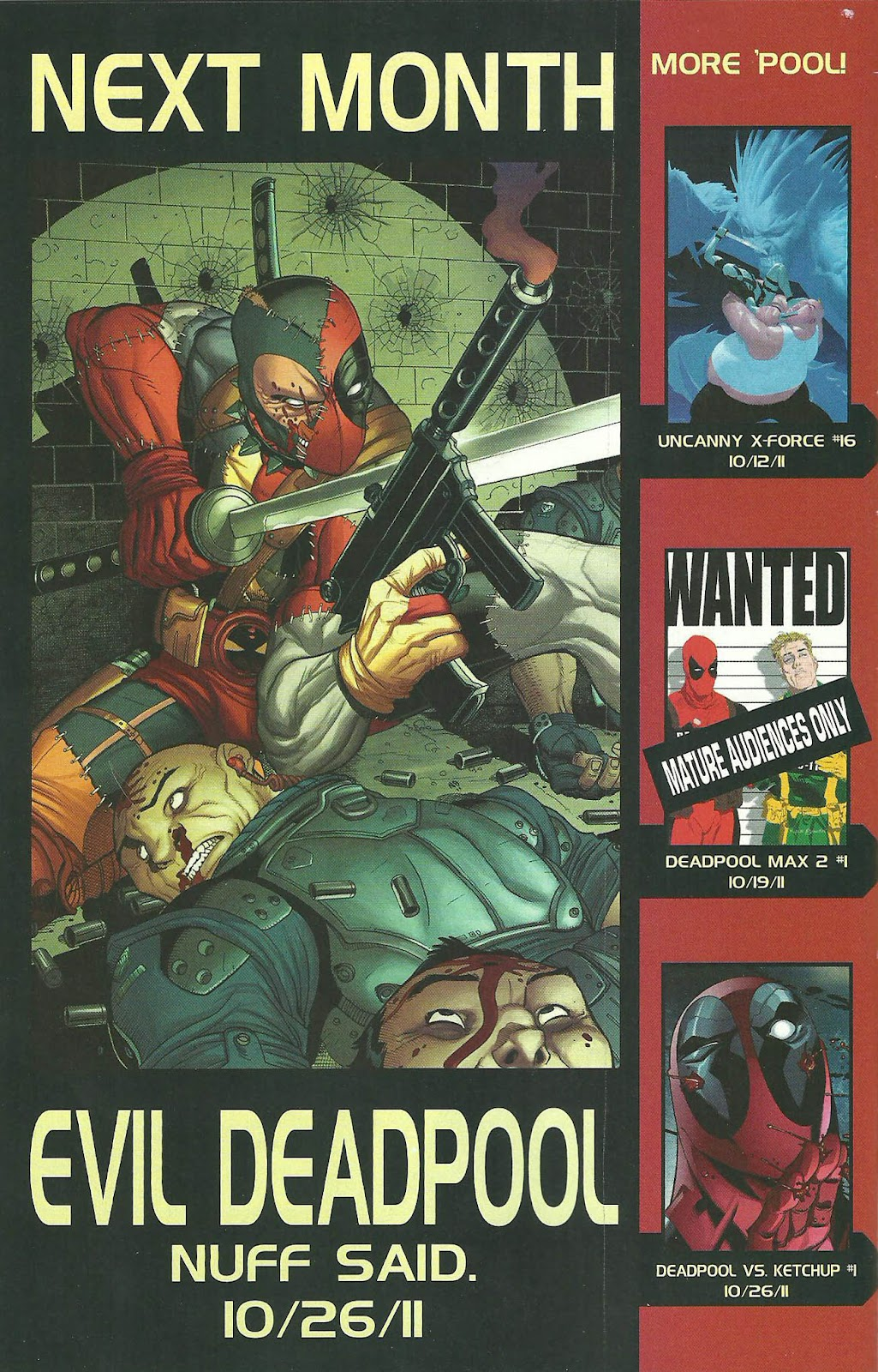 Read online Deadpool (2008) comic -  Issue #44 - 23
