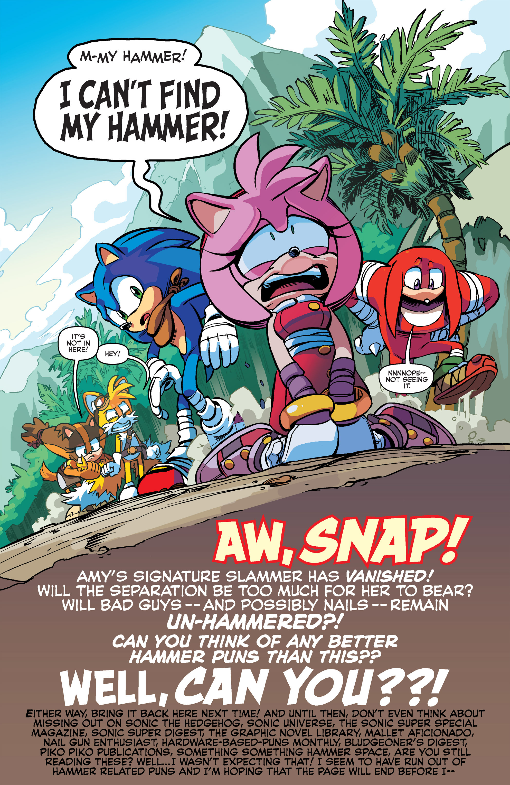 Read online Sonic Boom comic -  Issue #2 - 22