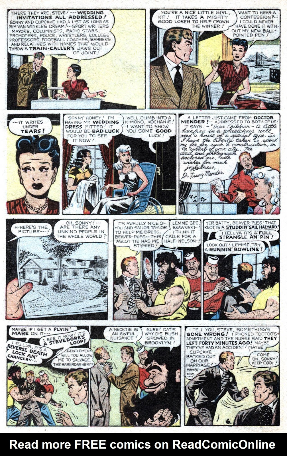 Read online Famous Funnies comic -  Issue #193 - 8