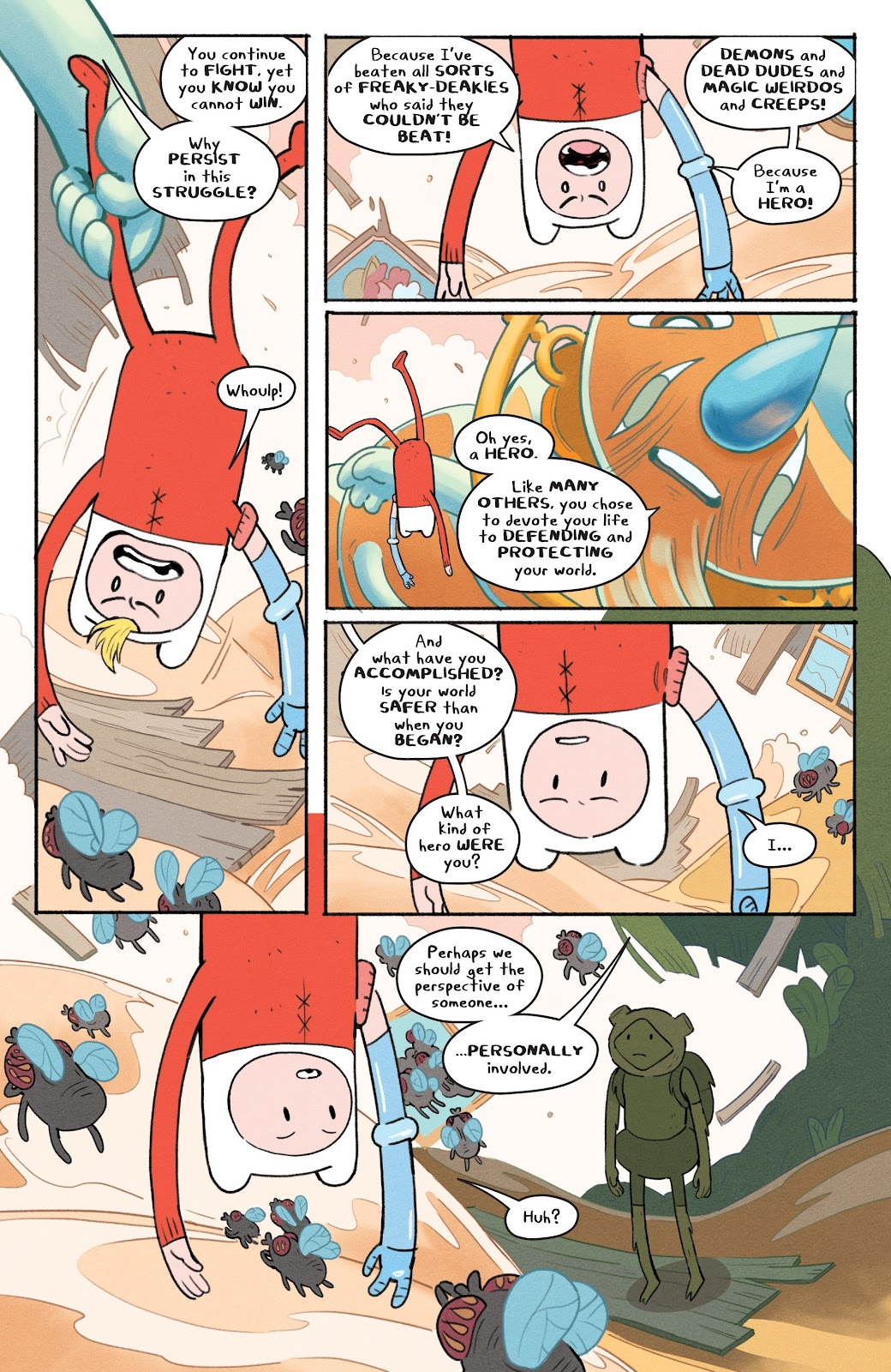 Read online Adventure Time: Beginning of the End comic -  Issue # _TPB - 33