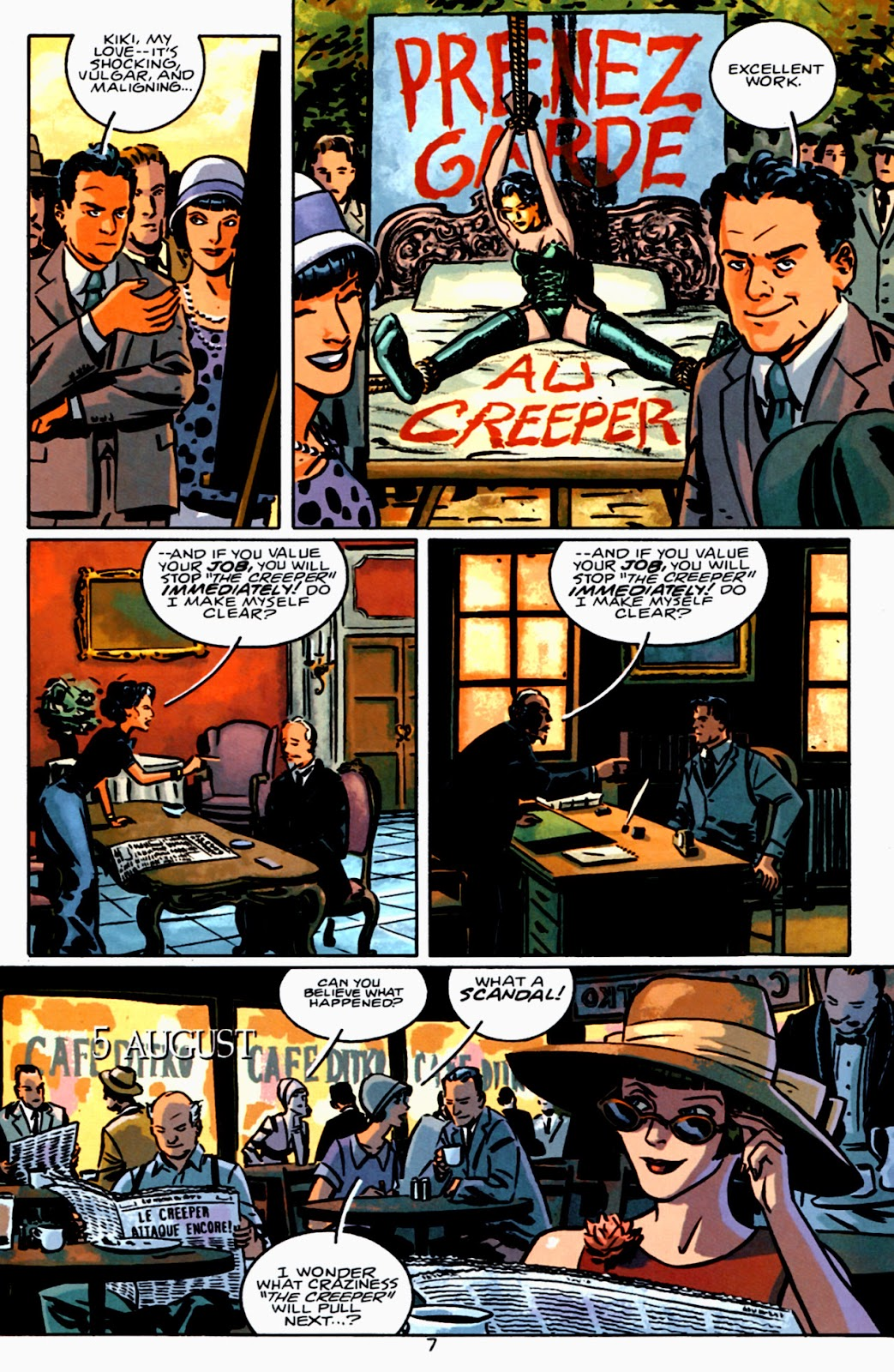 Read online Beware The Creeper (2003) comic -  Issue #3 - 8