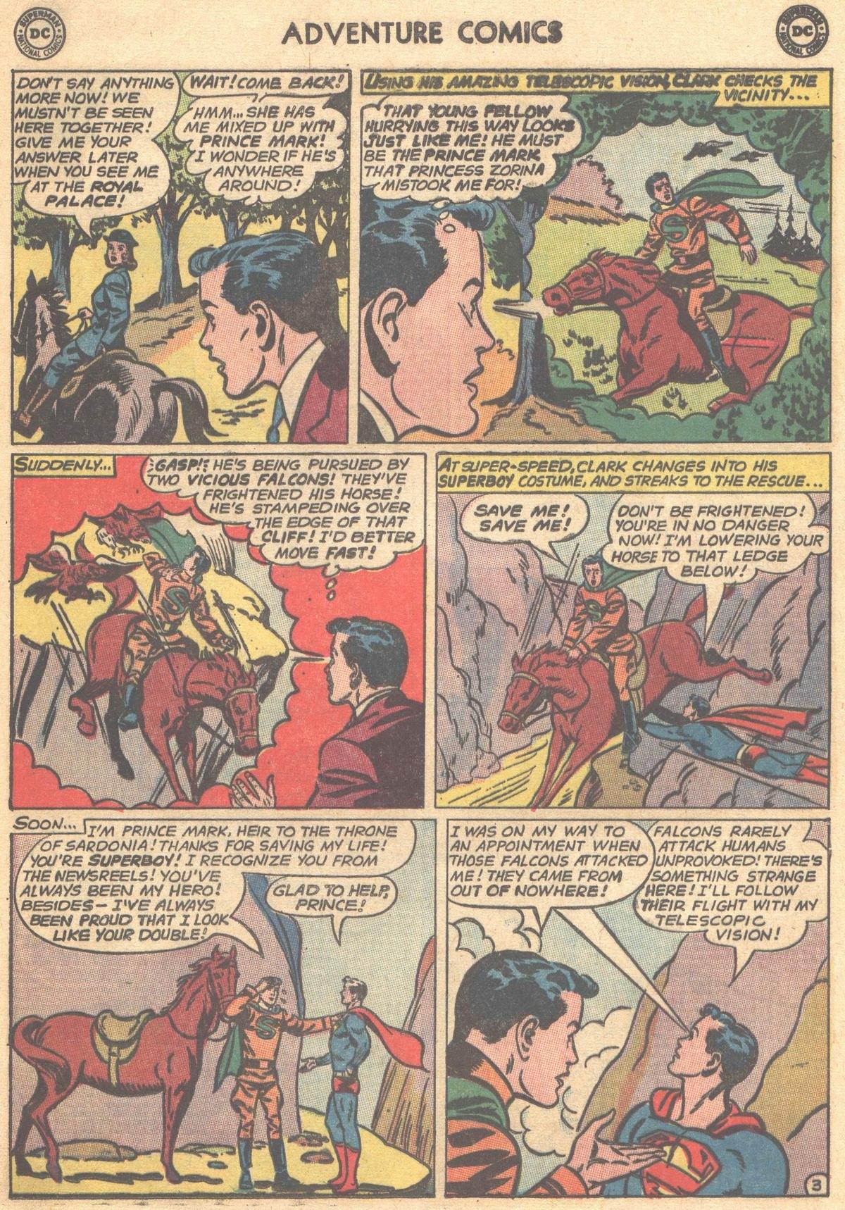Read online Adventure Comics (1938) comic -  Issue #303 - 5