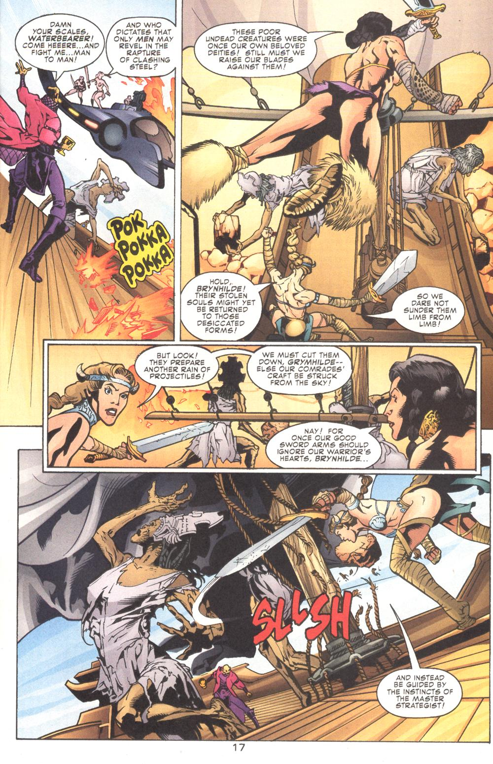 Read online Aquaman (2003) comic -  Issue #9 - 19