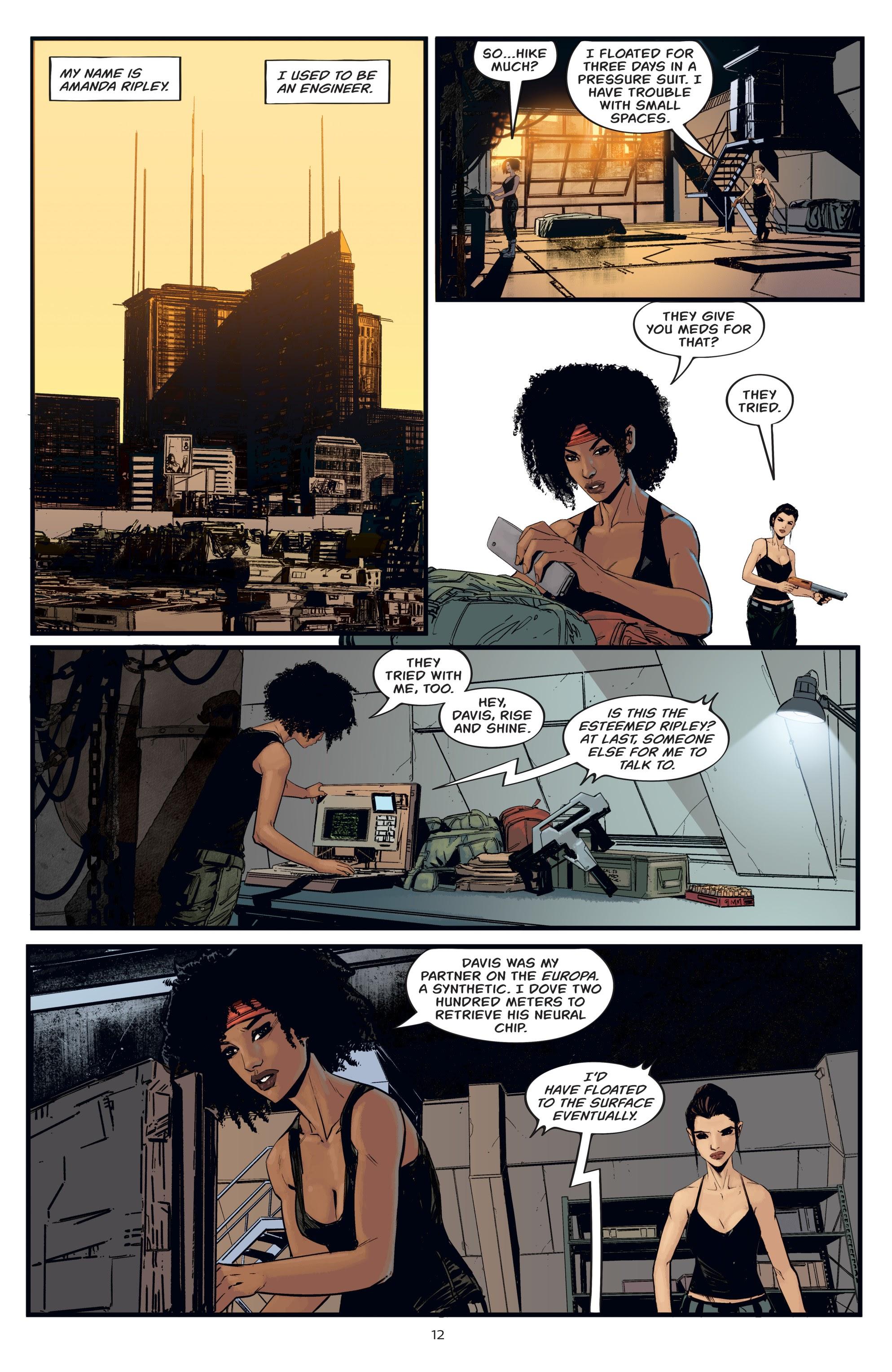 Read online Aliens: Resistance comic -  Issue # _TPB - 12