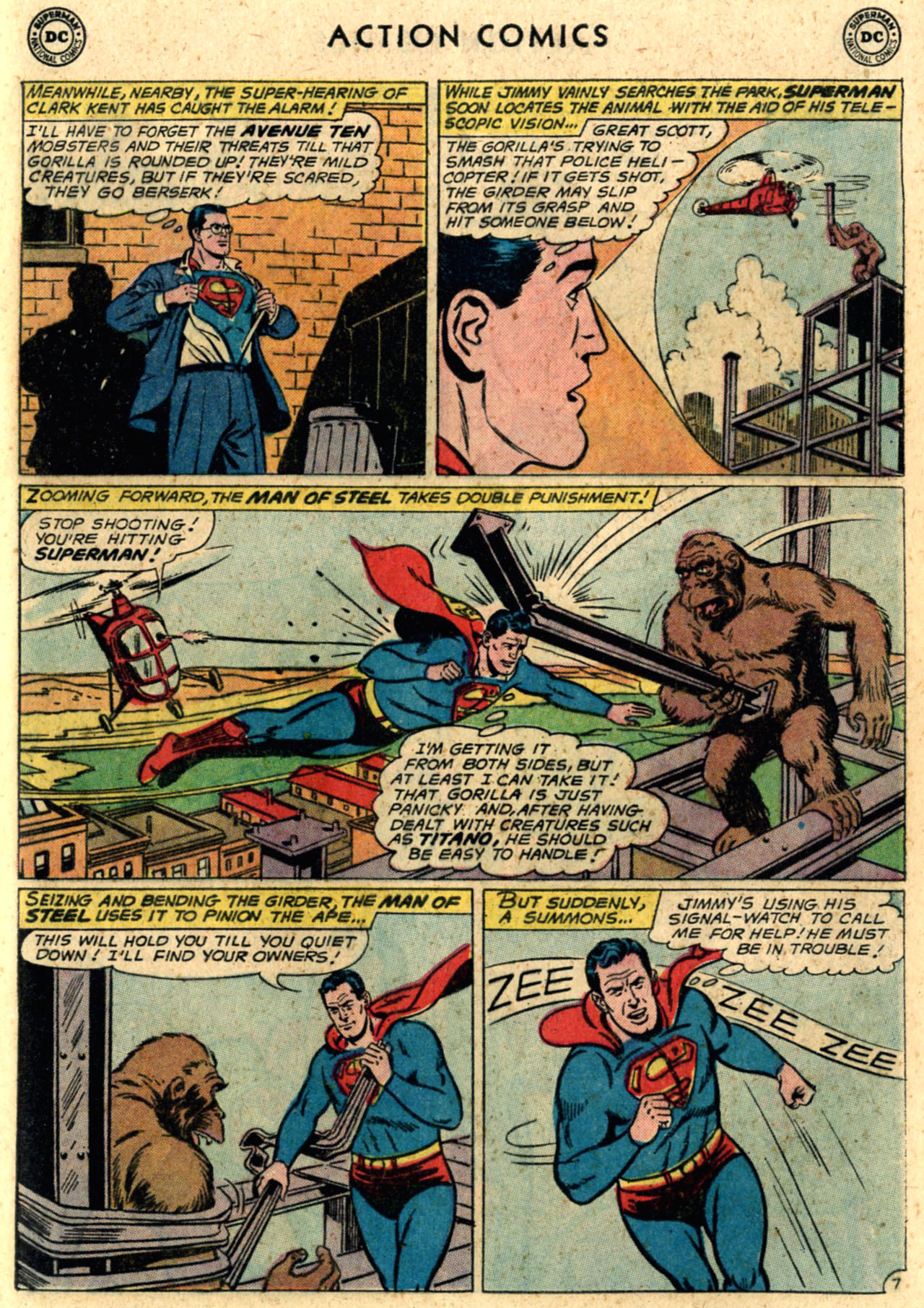 Read online Action Comics (1938) comic -  Issue #289 - 9