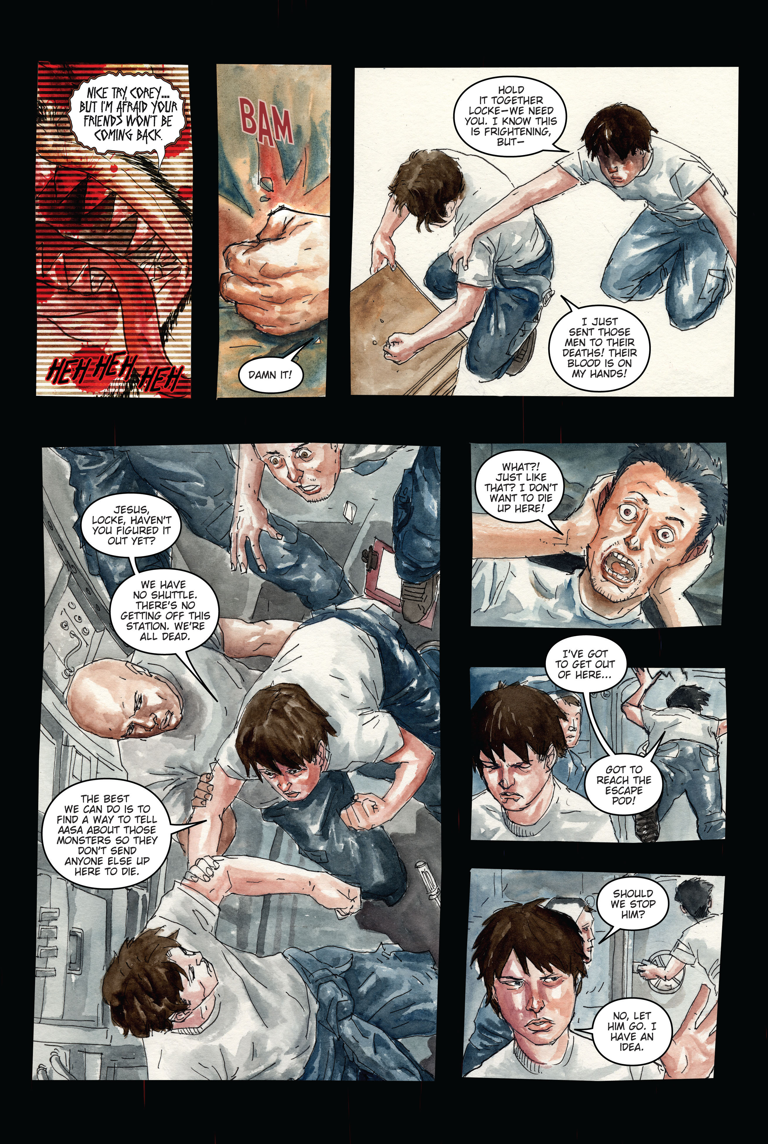 30 Days of Night: Dead Space 3 Page 4