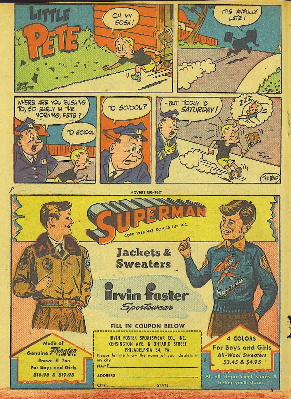 Read online Adventure Comics (1938) comic -  Issue #136 - 26
