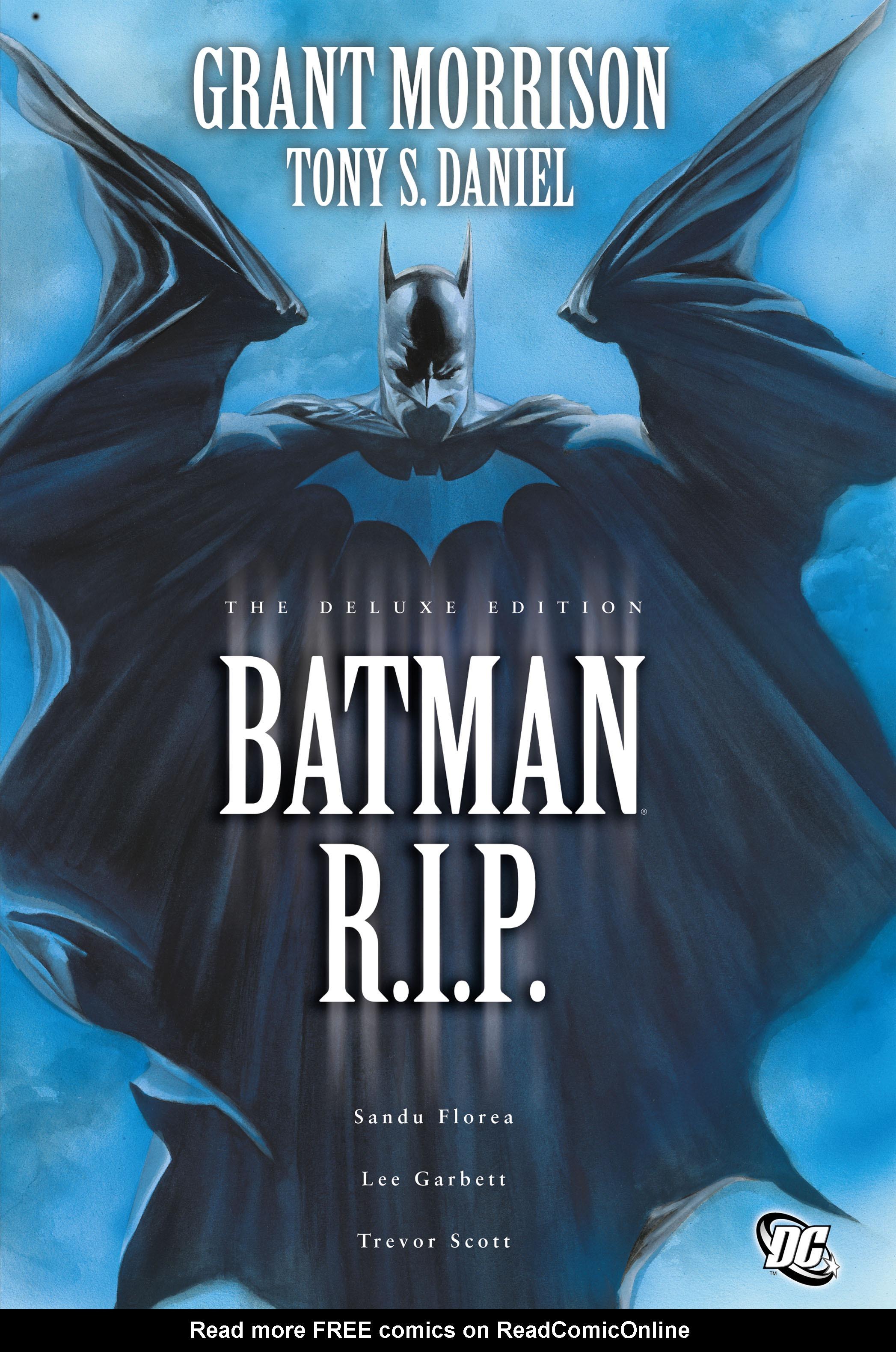 Batman: R.I.P. TPB Page 1
