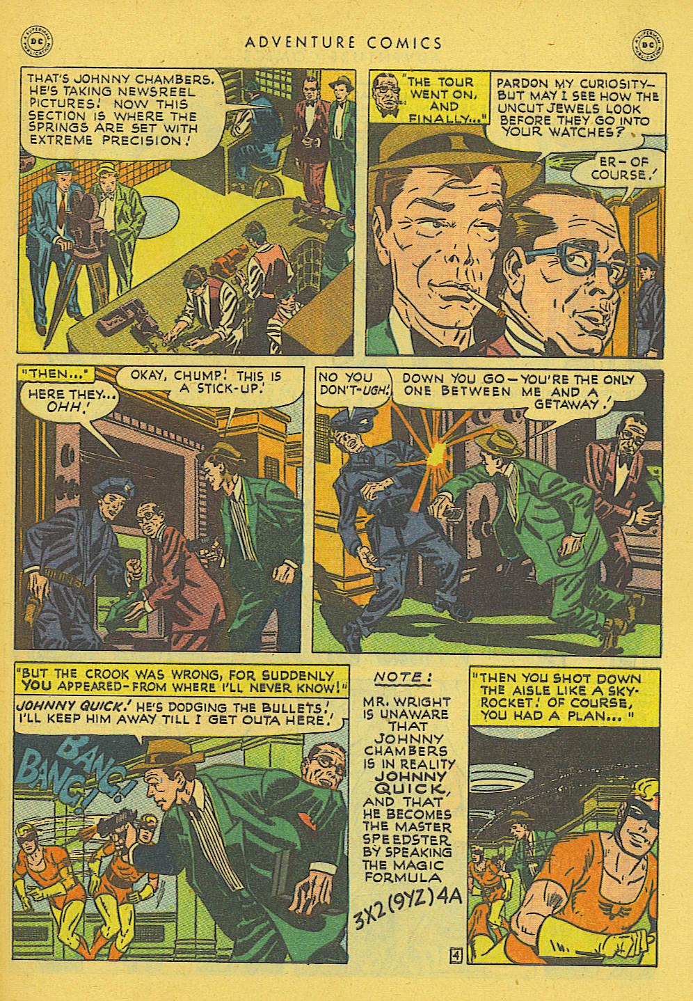 Read online Adventure Comics (1938) comic -  Issue #131 - 36