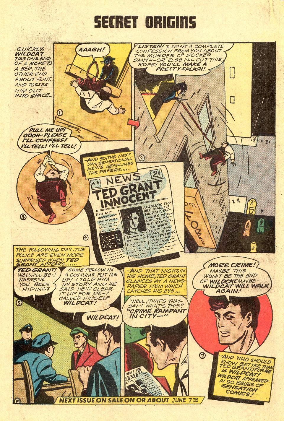 Read online Secret Origins (1973) comic -  Issue #3 - 33