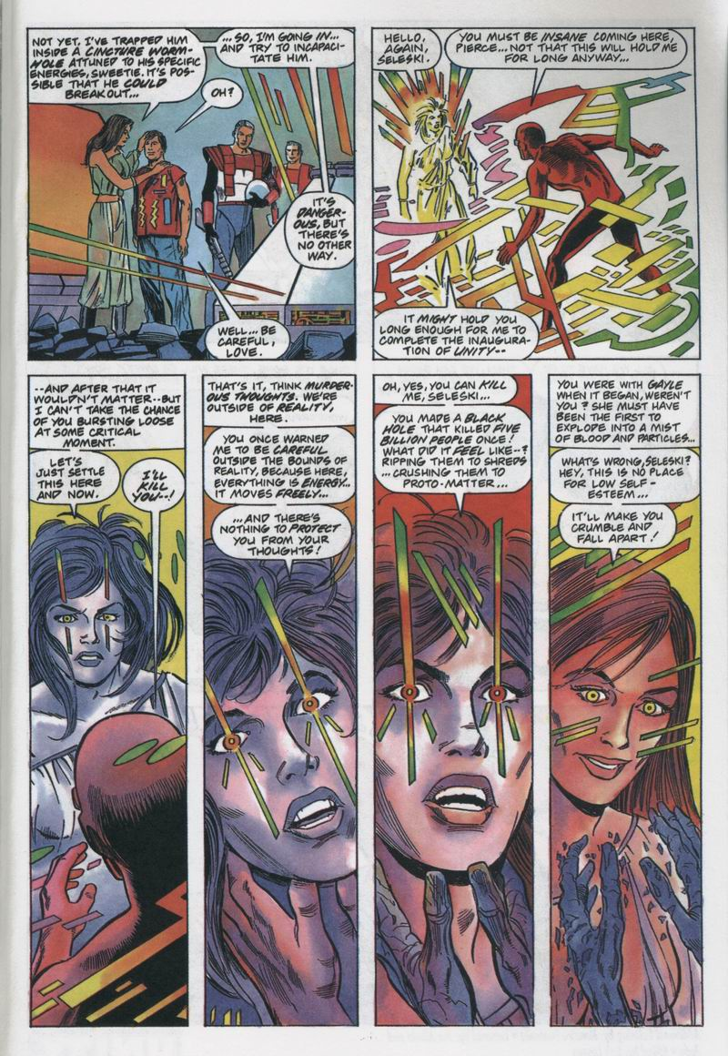 Read online Solar, Man of the Atom comic -  Issue #12 - 22