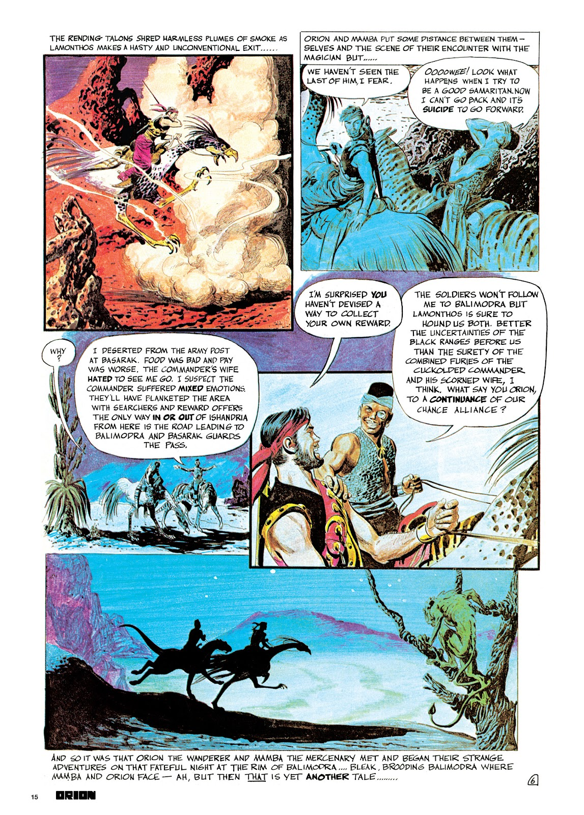 Read online Orion and Edge of Chaos comic -  Issue # TPB - 16