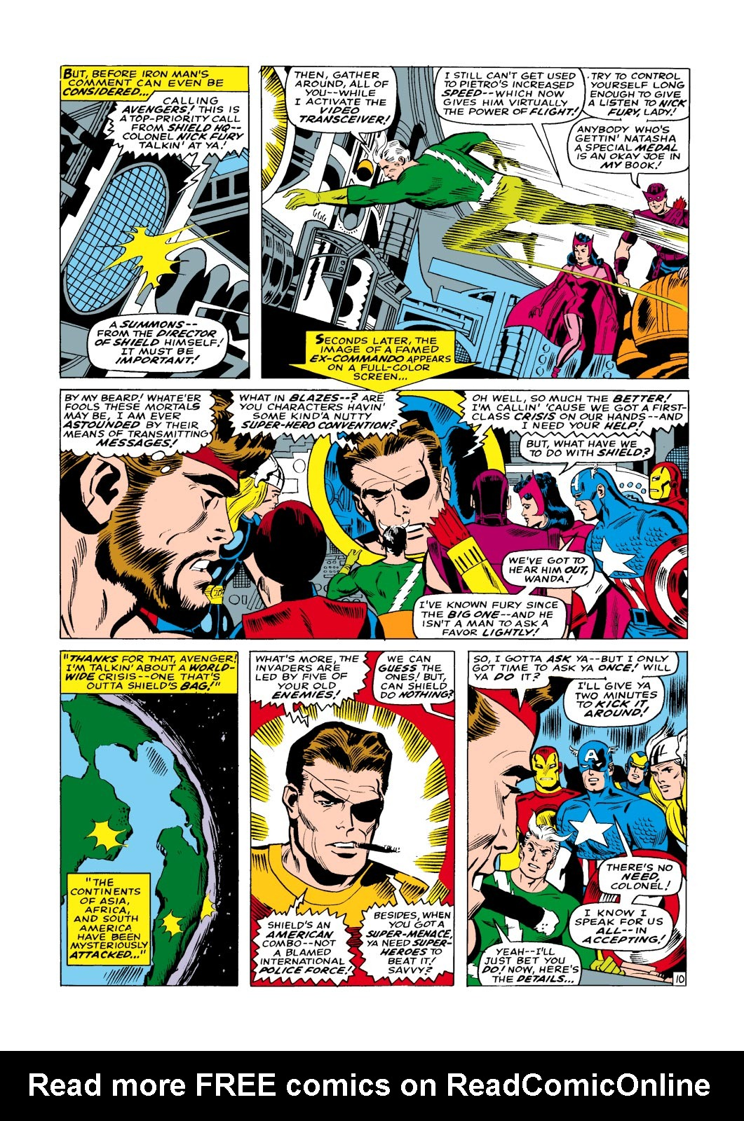 The Avengers (1963) _Annual_1 Page 10