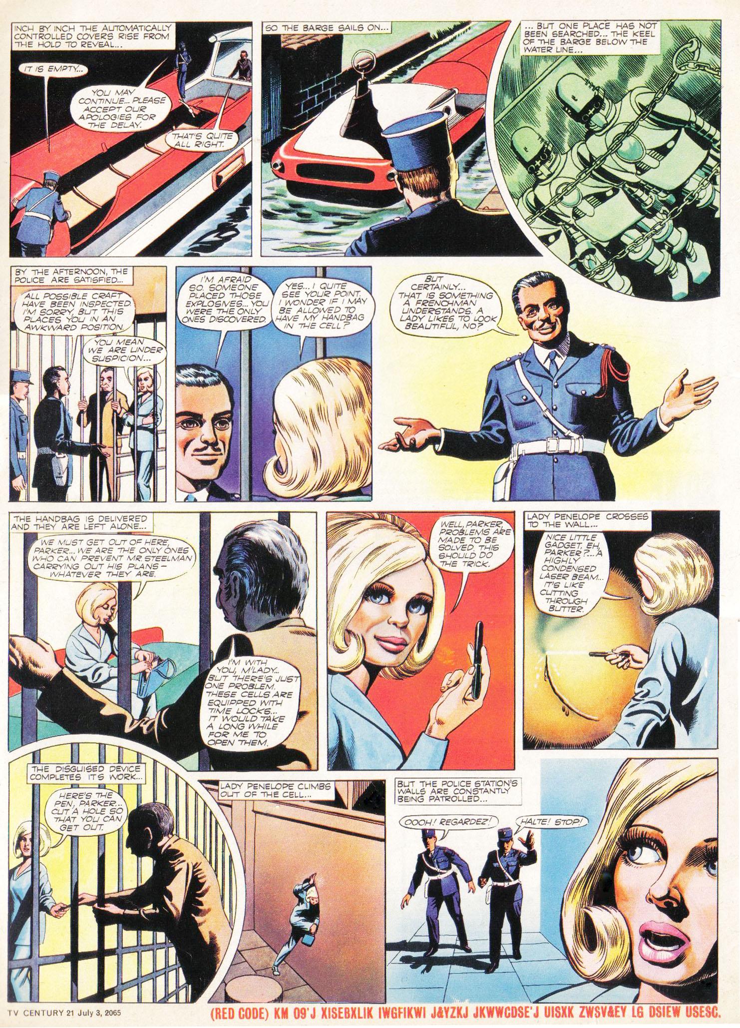 Read online TV Century 21 (TV 21) comic -  Issue #24 - 16