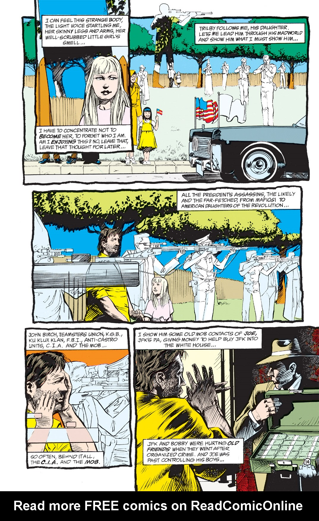 Read online Shade, the Changing Man comic -  Issue #3 - 16