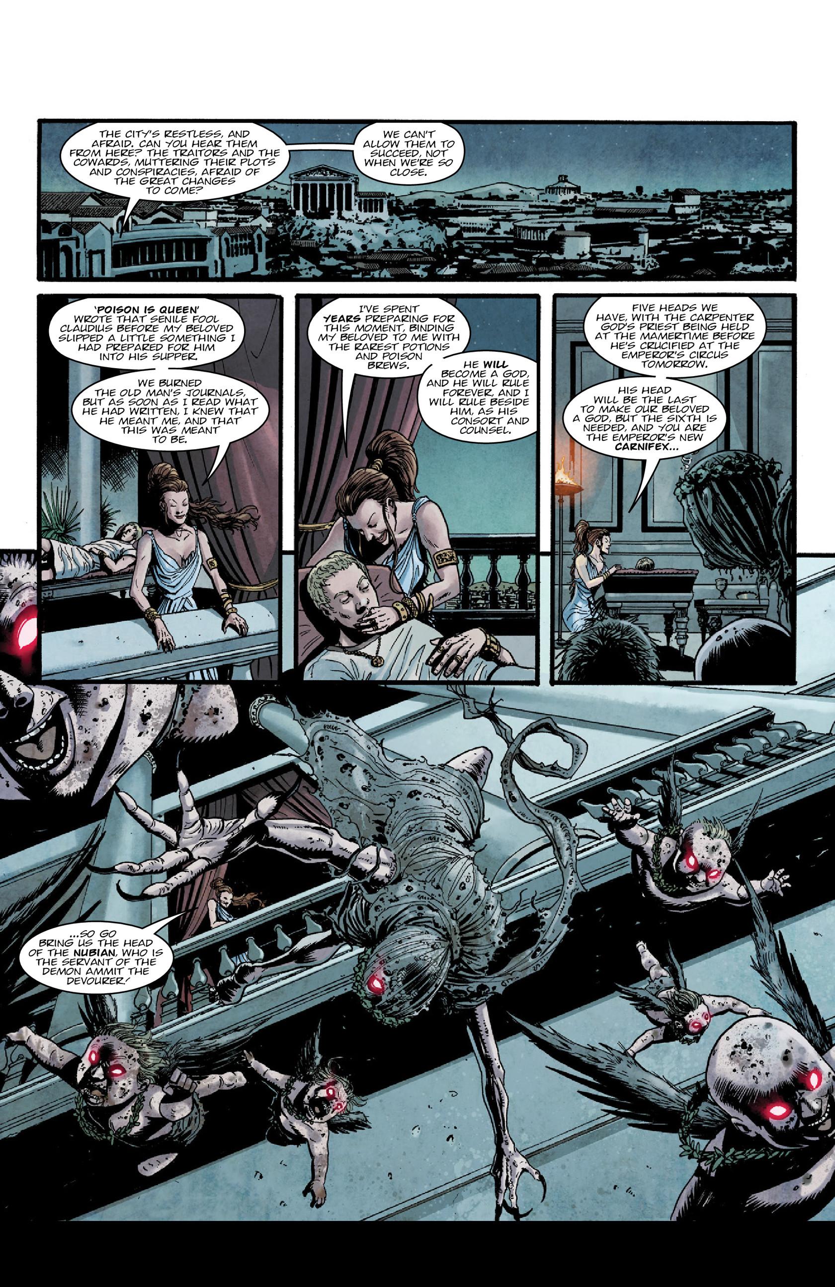 Read online Aquila comic -  Issue #5 - 13
