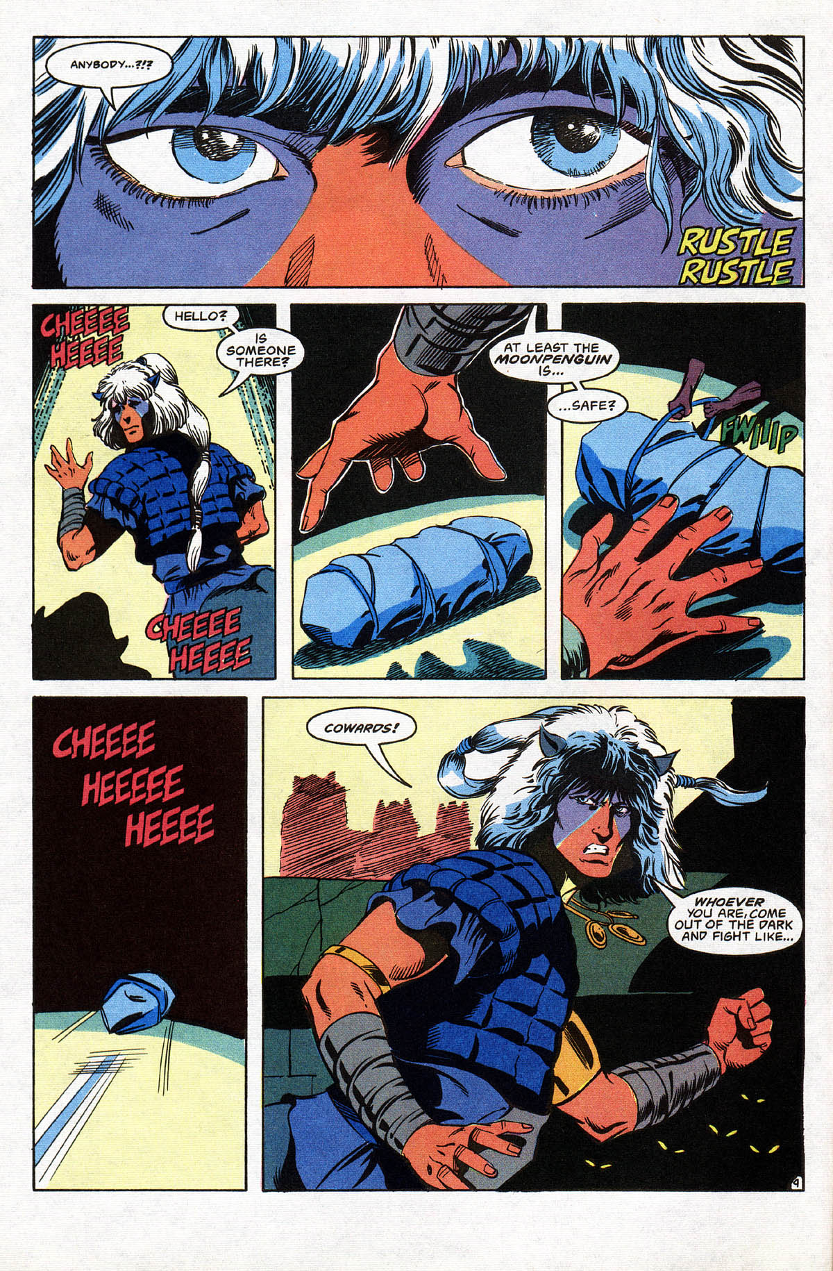 Read online Advanced Dungeons & Dragons comic -  Issue #10 - 11