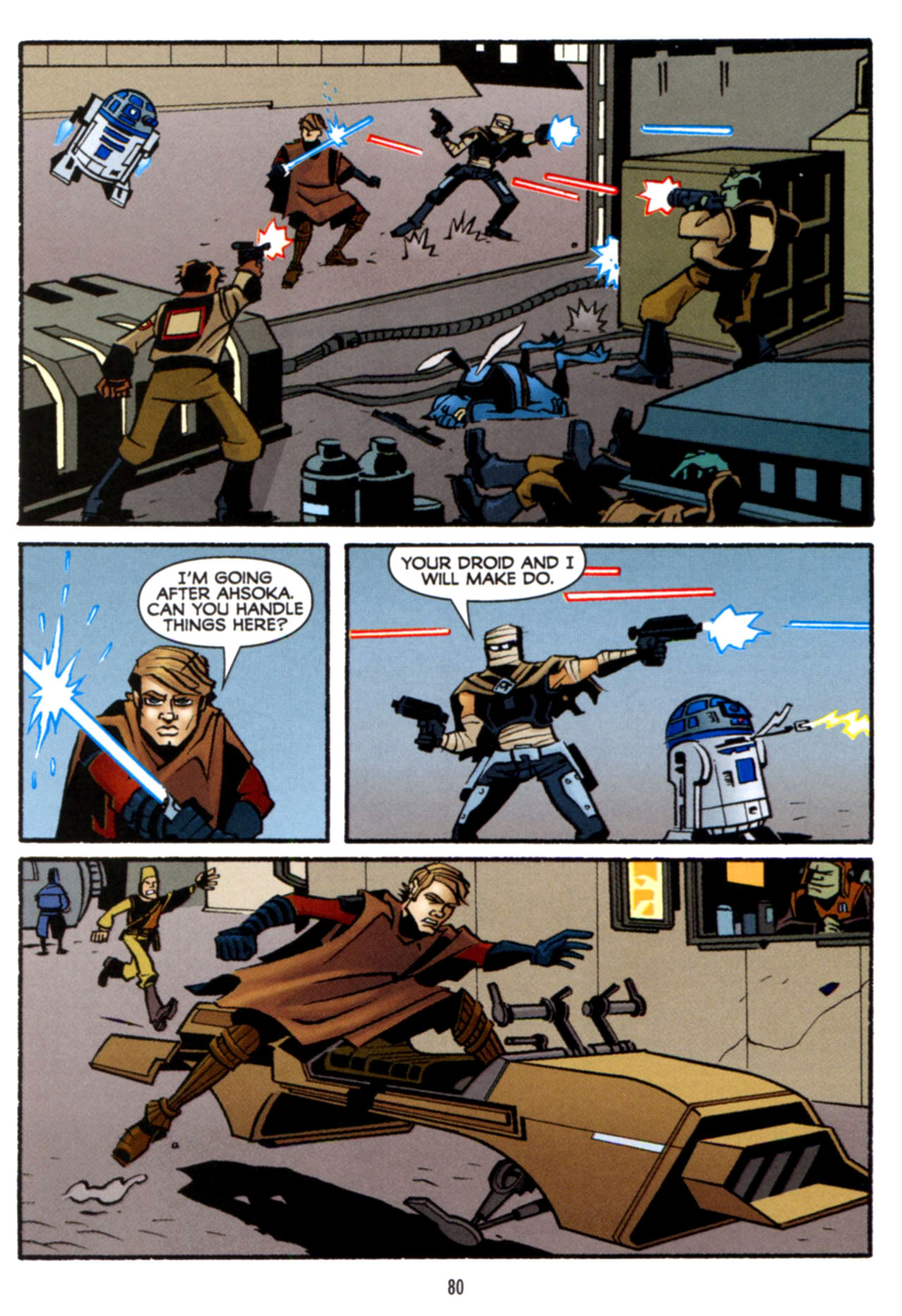 Read online Star Wars: The Clone Wars - Crash Course comic -  Issue # Full - 81