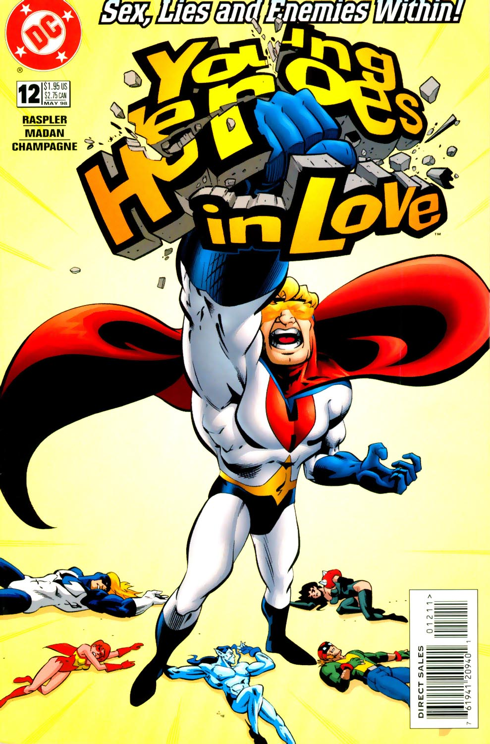Young Heroes in Love issue 12 - Page 1