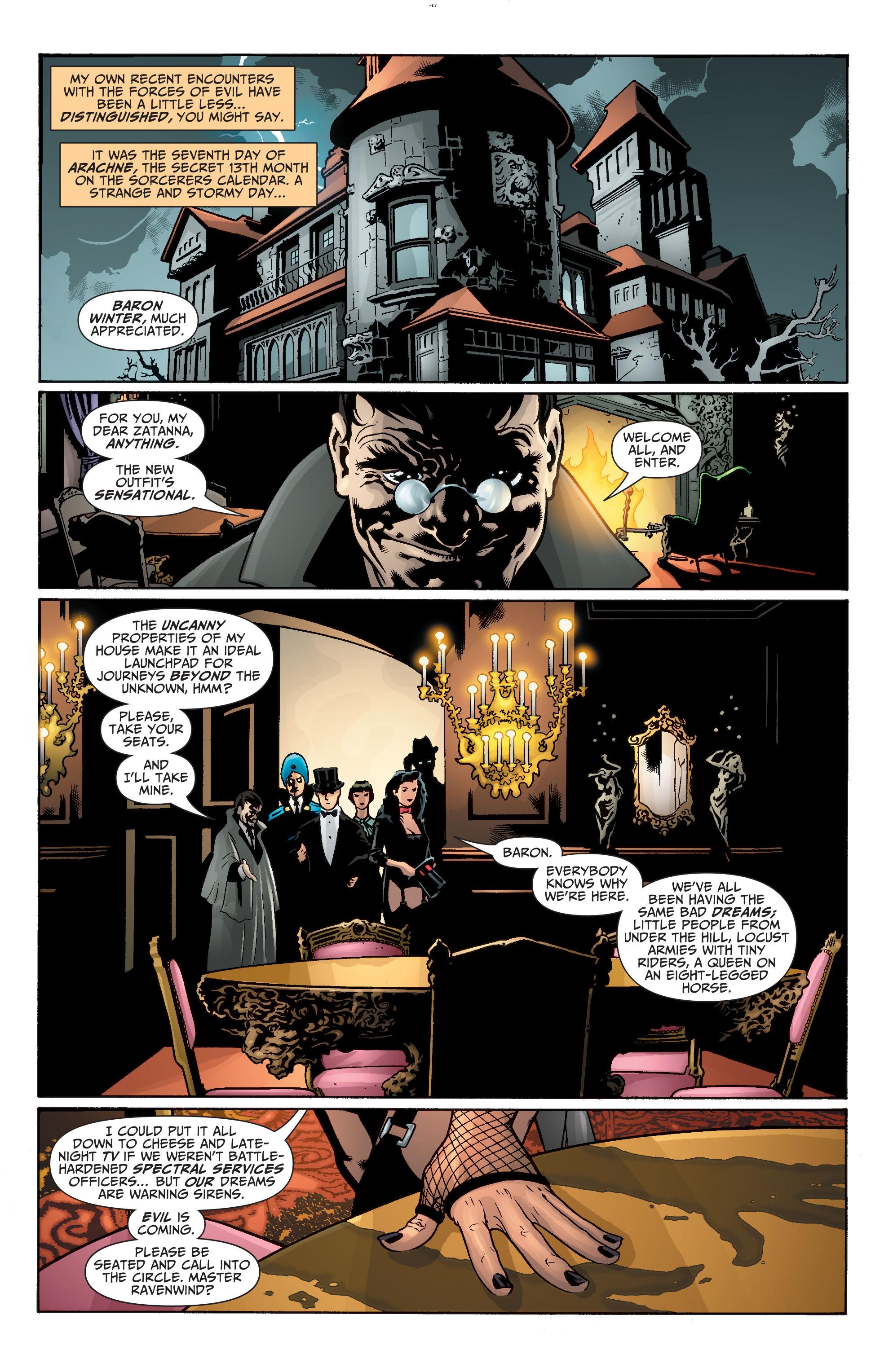 Read online Seven Soldiers: Zatanna comic -  Issue #1 - 7