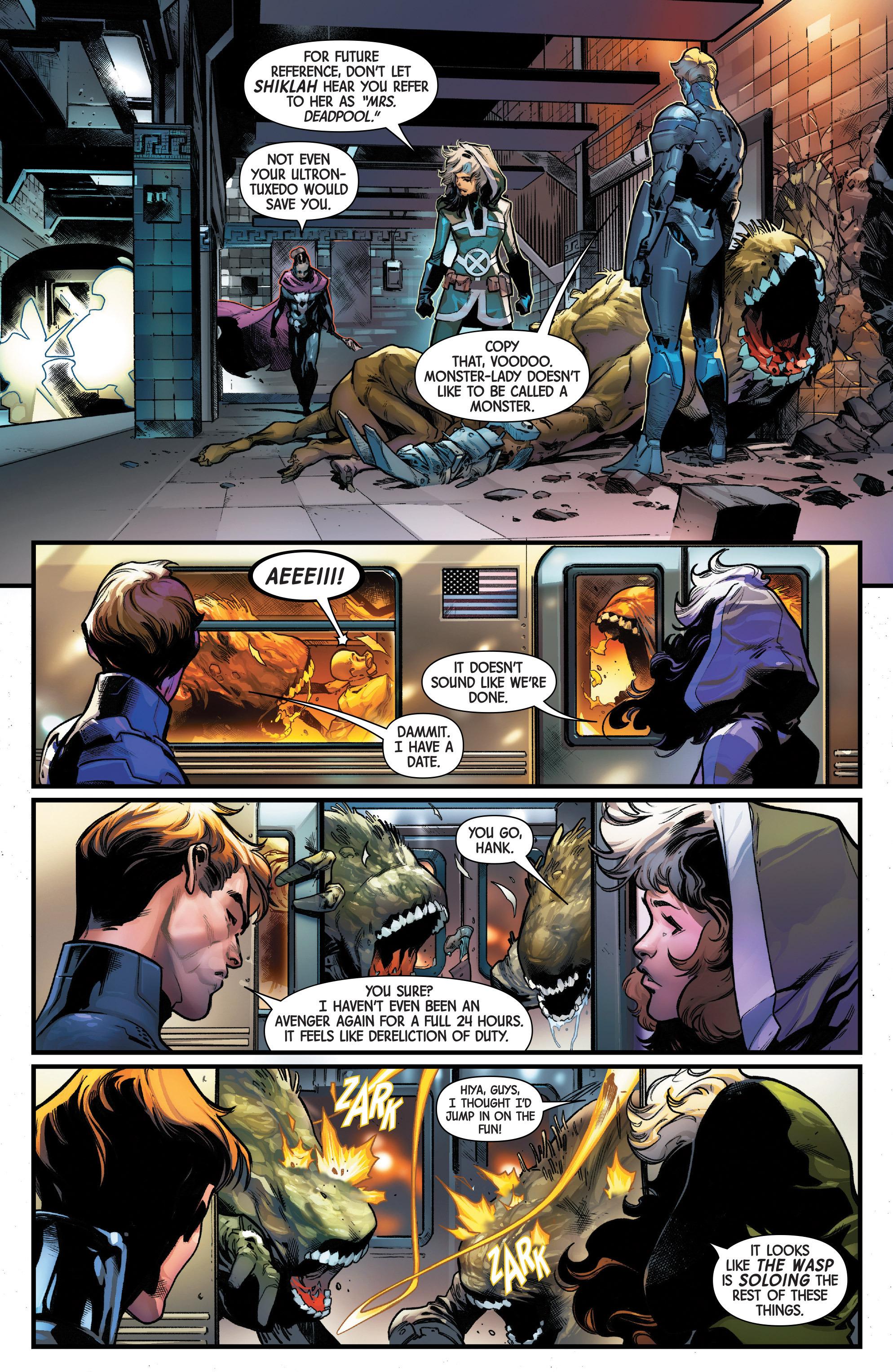 Read online Uncanny Avengers [II] comic -  Issue #10 - 5