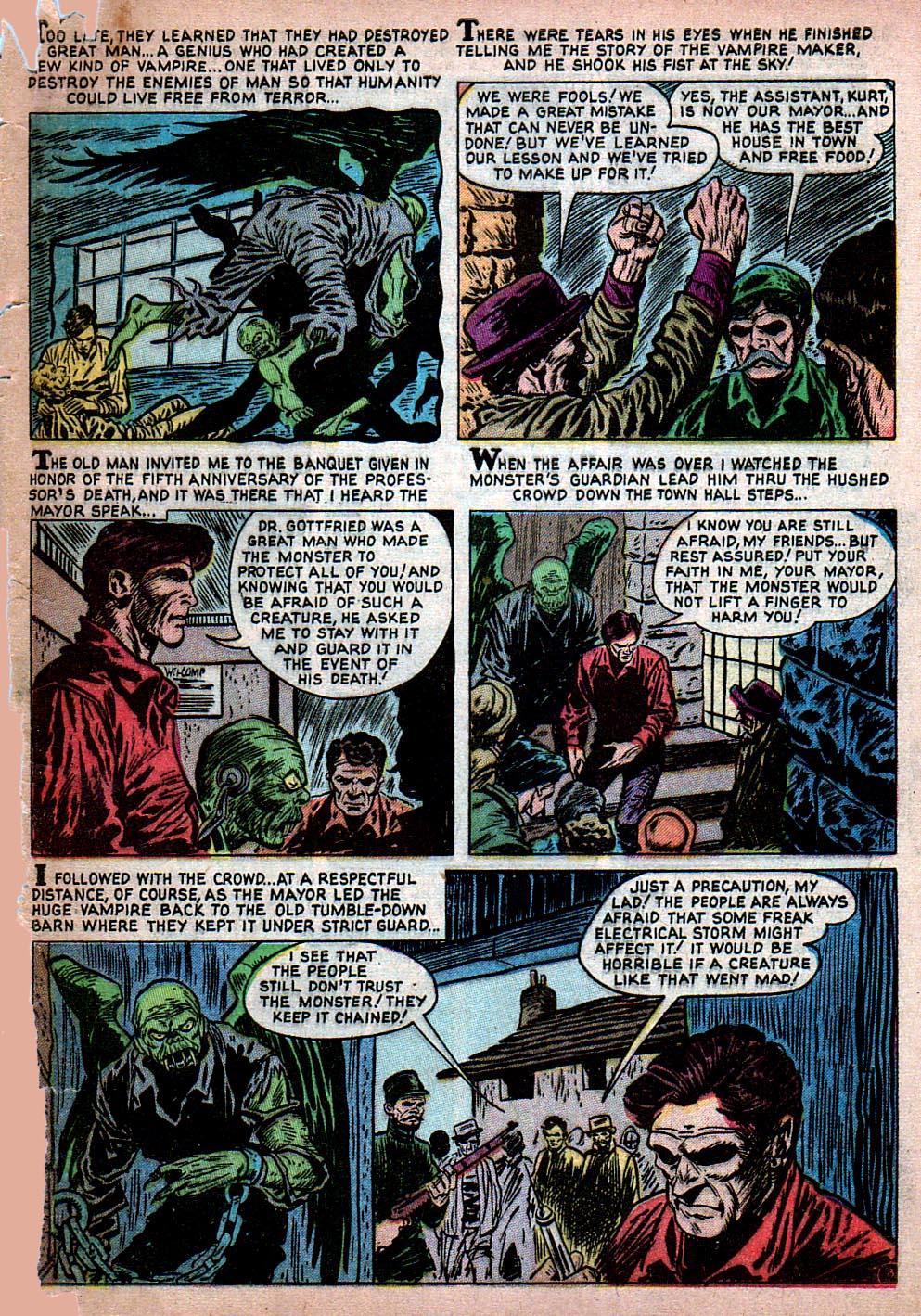 Read online Adventures into Weird Worlds comic -  Issue #15 - 4