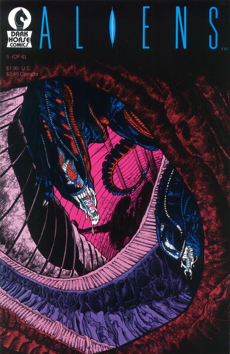 Read online Aliens (1988) comic -  Issue #5 - 1