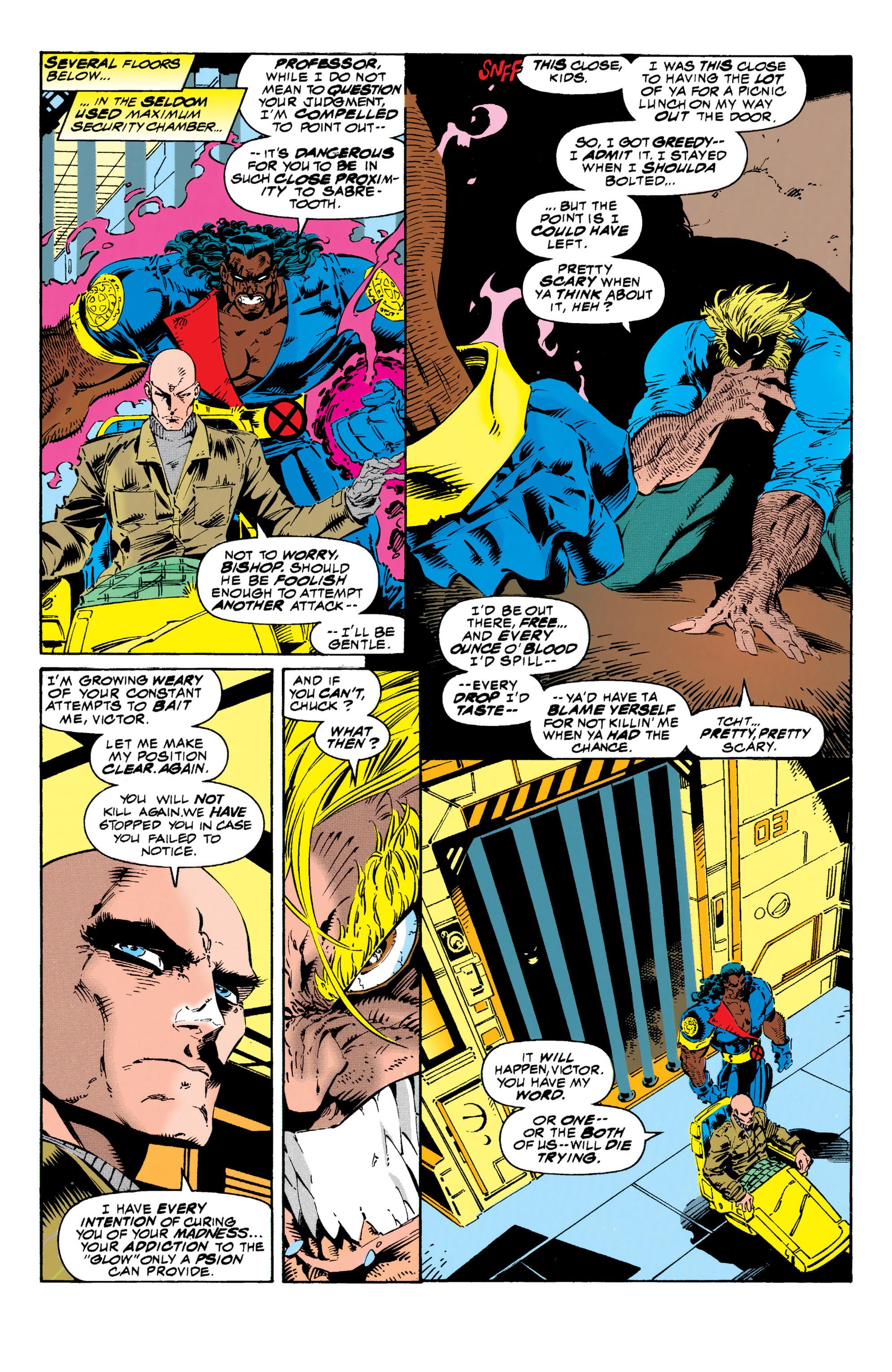 Read online Uncanny X-Men (1963) comic -  Issue #313 - 9