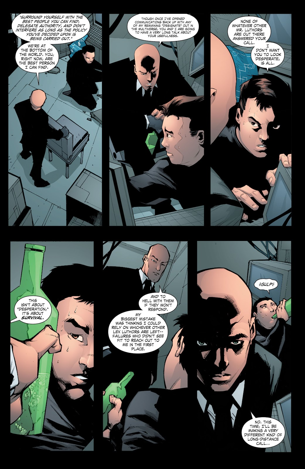 Read online Smallville Season 11 [II] comic -  Issue # TPB 8 - 102