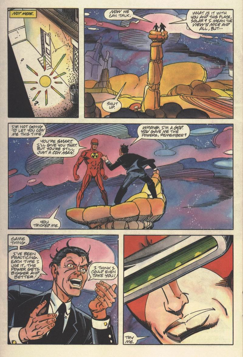 Read online Solar, Man of the Atom comic -  Issue #15 - 18