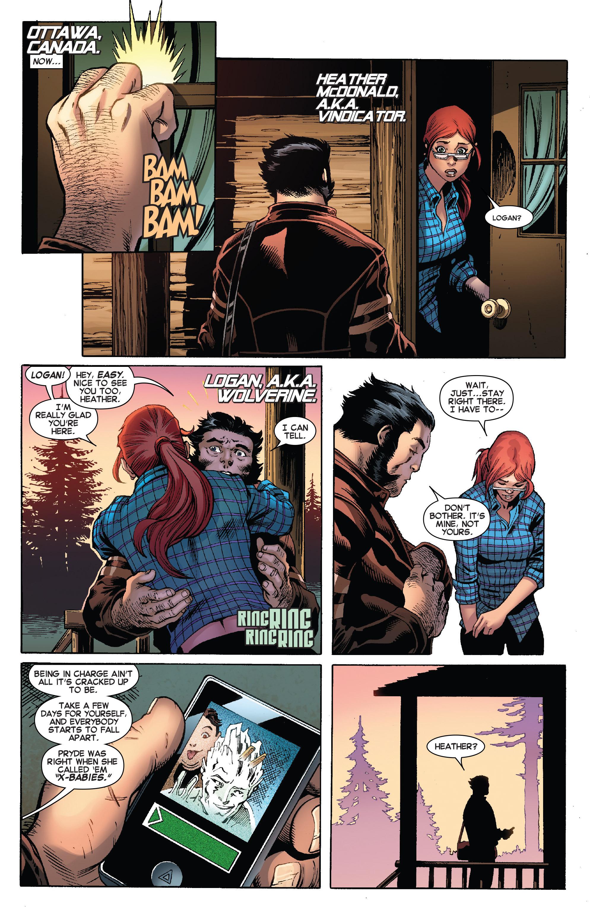 Read online Amazing X-Men (2014) comic -  Issue #8 - 5