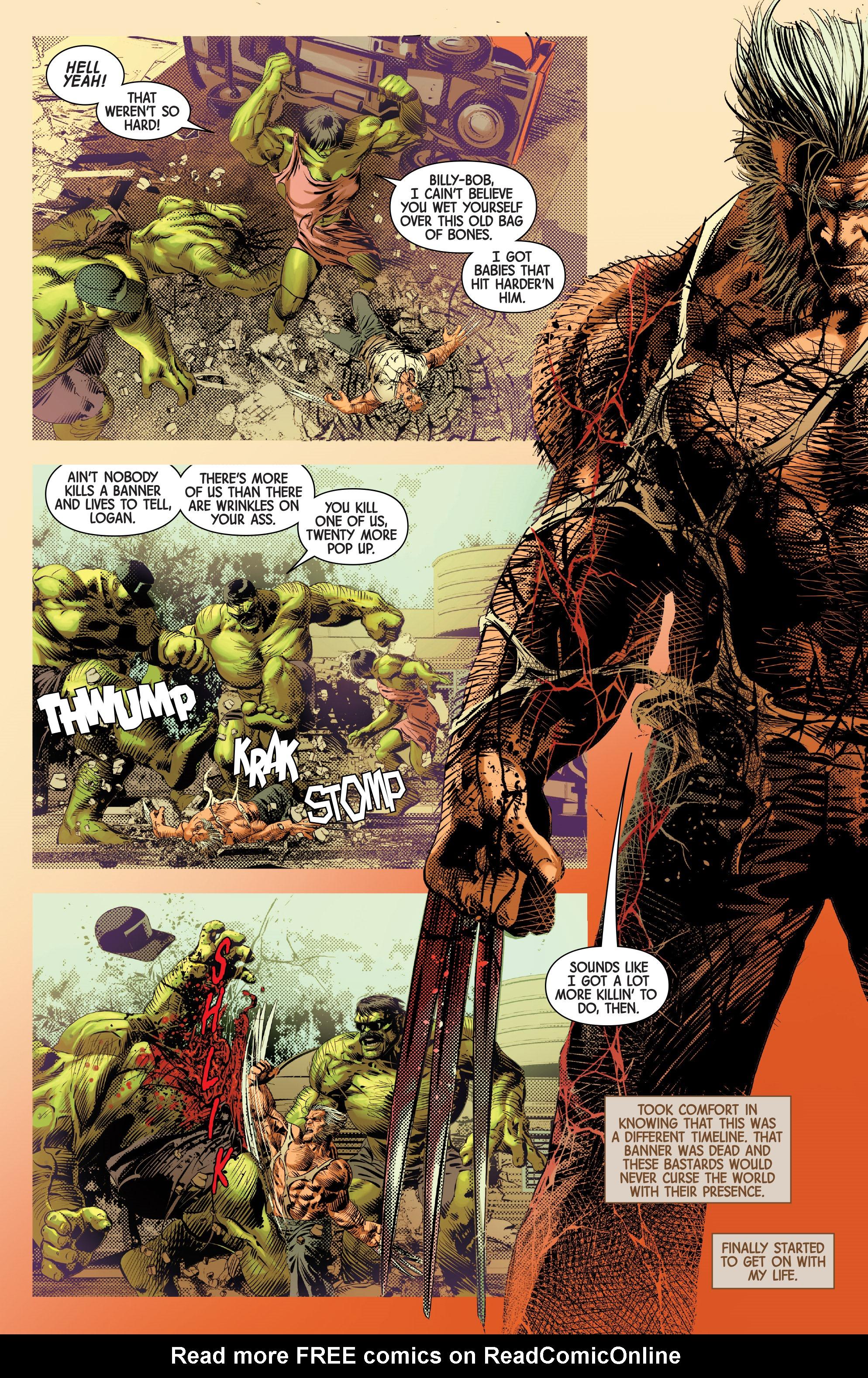 Read online Old Man Logan (2016) comic -  Issue #25 - 12