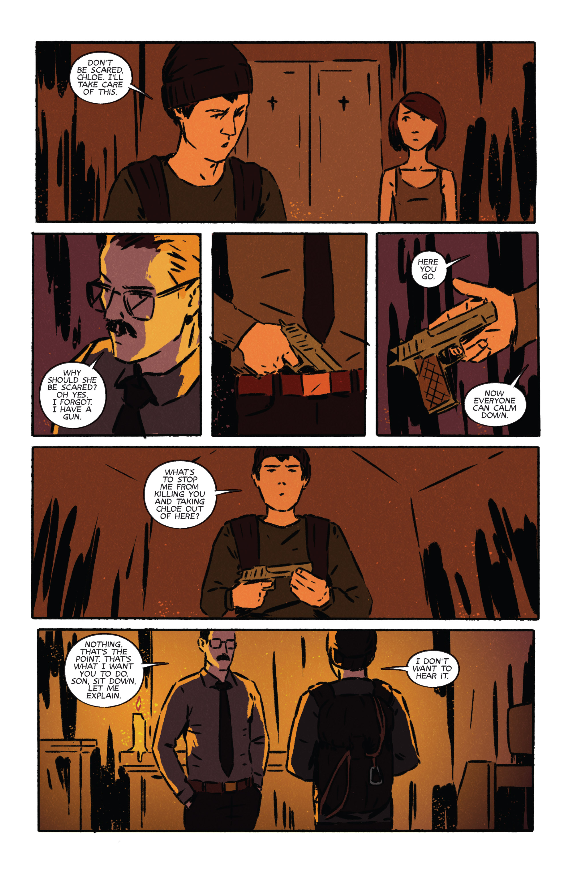 Read online Night Owl Society comic -  Issue #3 - 18